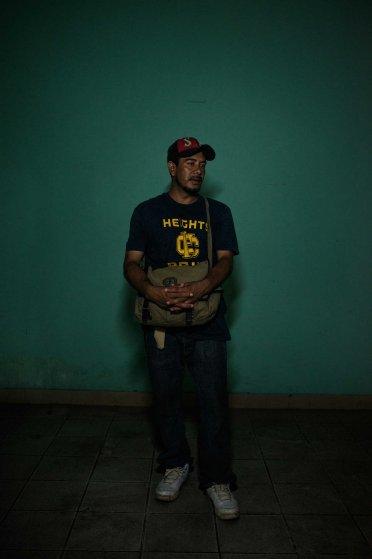 Carlos Gomez, 34, from Guatemala.