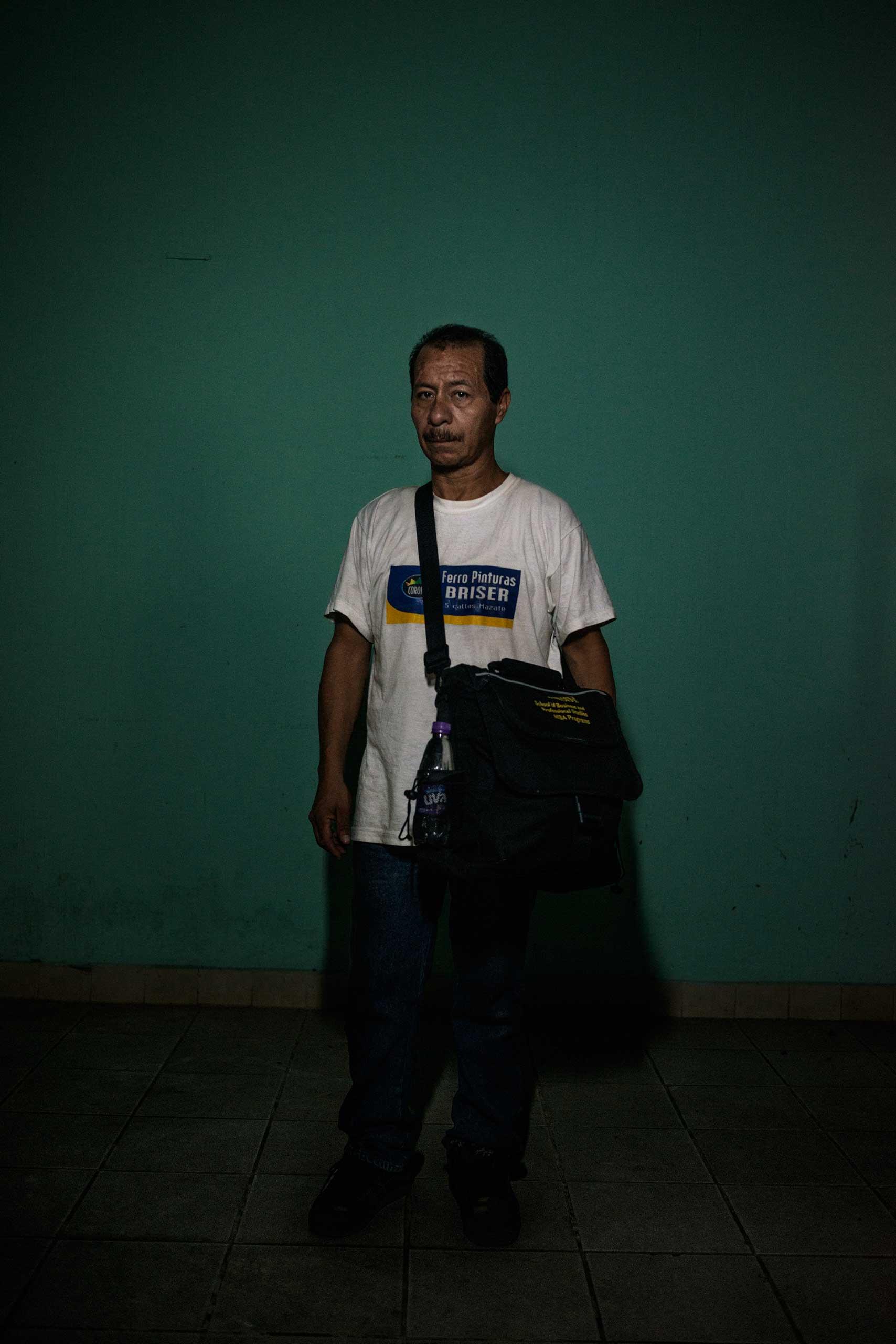 Luis Alfredo Portales, 43, from Guatemala.