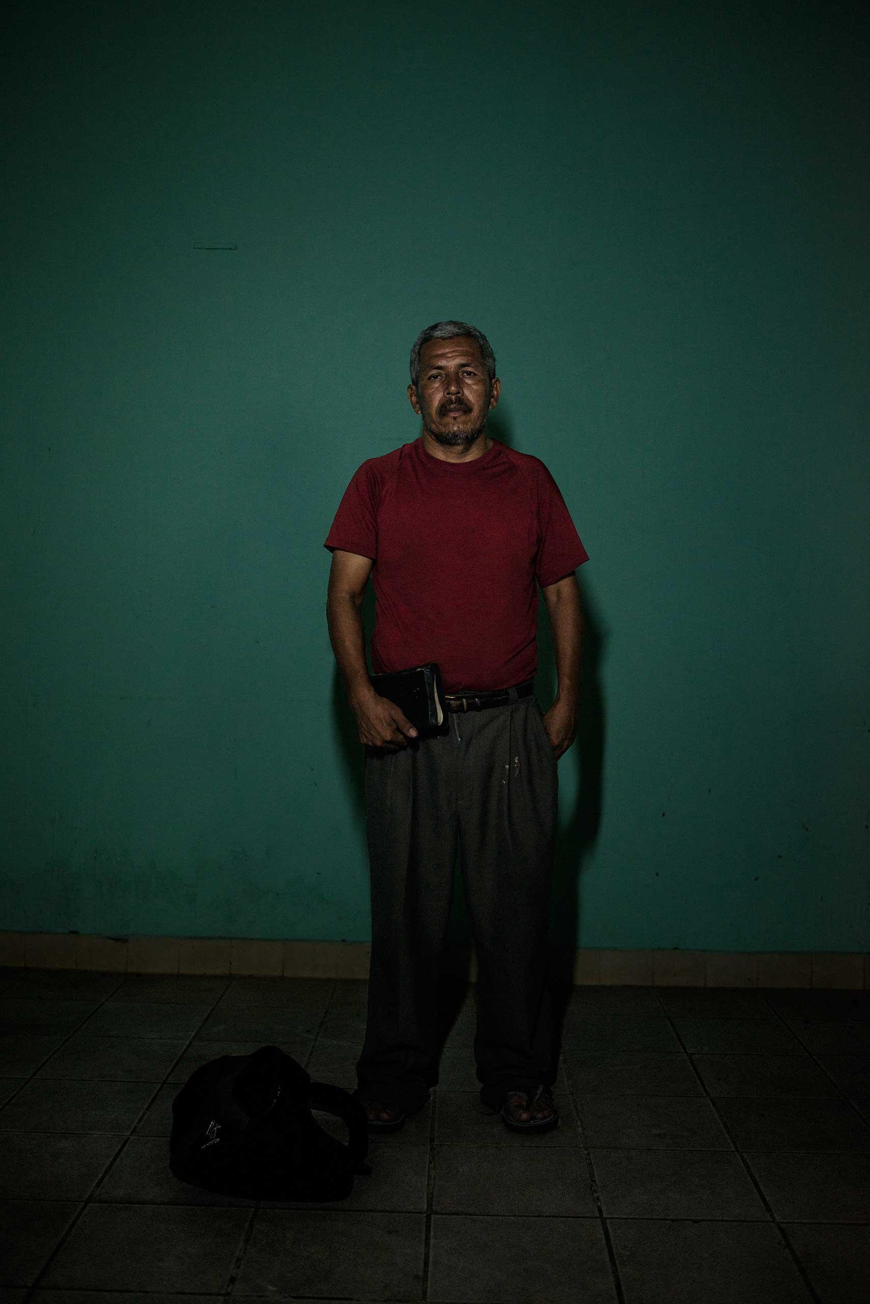 Alfredo Núñez, 46, from El Salvador.