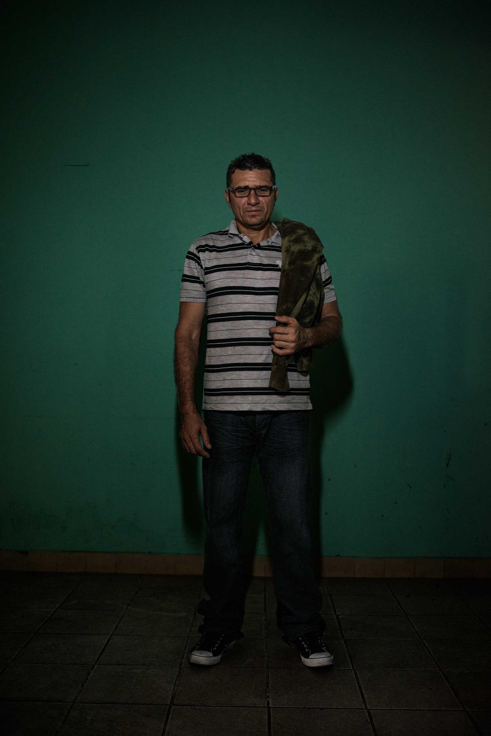 Andres Sanchez, 42, from El Salvador.