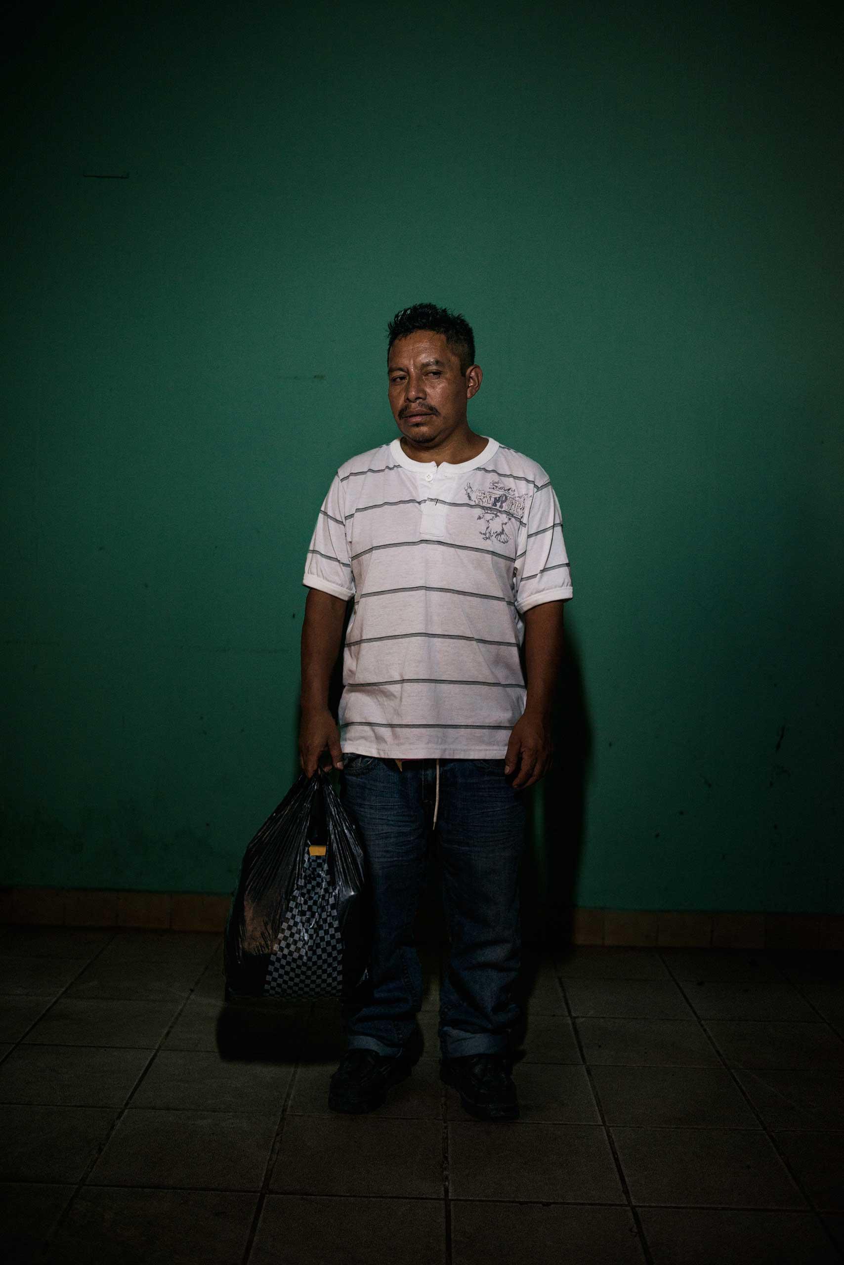 Cesar Augusto Coxaj, 39, from Guatemala.