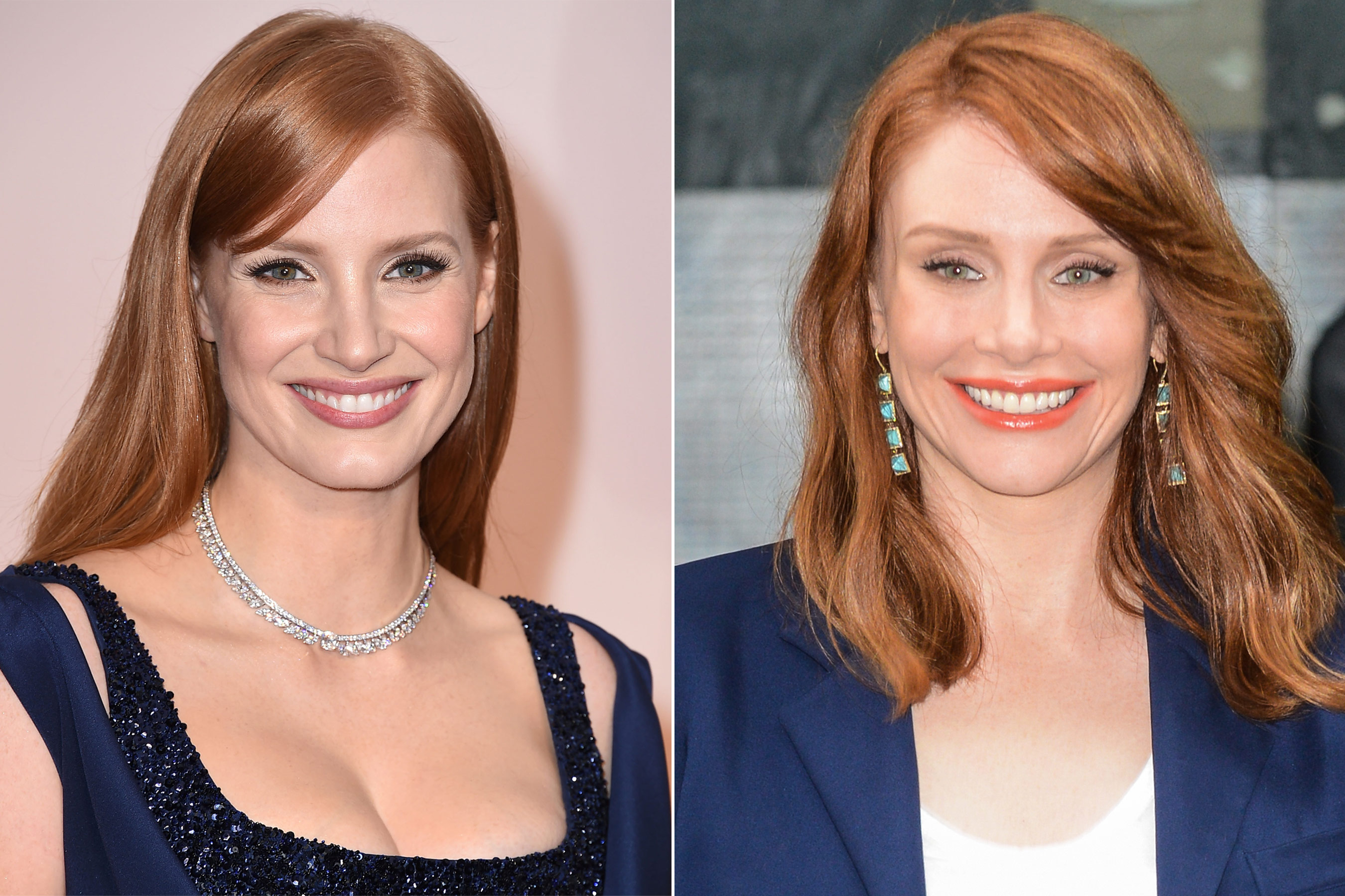 <strong>Jessica Chastain &amp; Bryce Dallas Howard</strong>