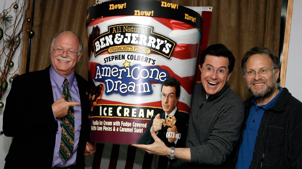 Stephen Colbert The Colbert Report And The Glory Of Americone Dream Time Stephen colbert's americone dream is a ben & jerry's ice cream flavor inspired by stephen colbert, host of the cbs television show the late show. https time com 3620426 stephen colbert report americone dream