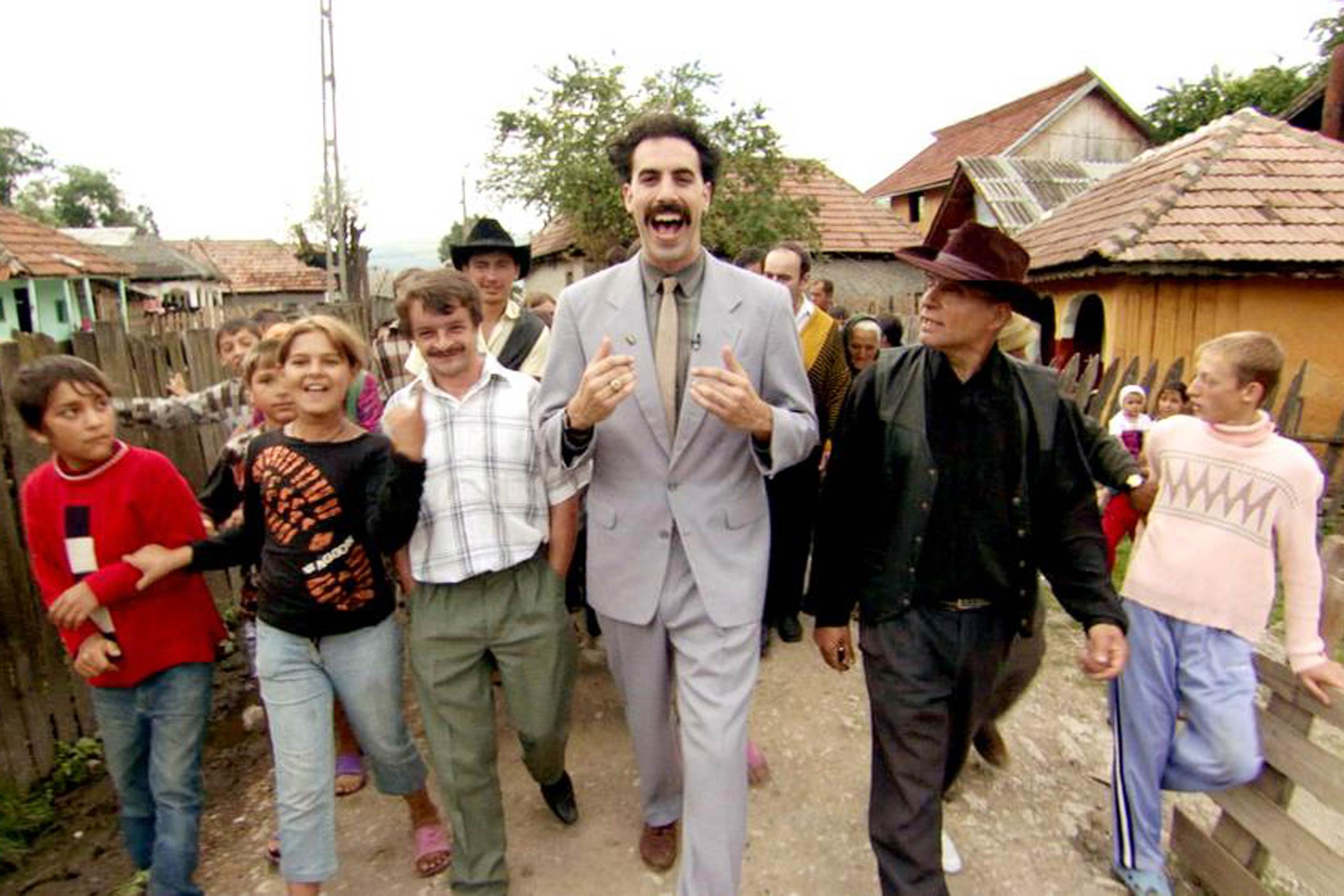 <strong><i>Borat</i>, 2006</strong> Sacha Baron Cohen's depiction of a Kazakh immigrant interacting with real people stateside showed America in a terrible light; it was hilarious, painful viewing. But for months after the film's release, questions over just how fair <i>Borat</i> had been to its participants persisted. And Baron Cohen's career continued to push boundaries of taste, with subsequent movies lampooning gay men (<i>Bruno</i>) and Sub-Saharan African heads of state (<i>The Dictator</i>).
