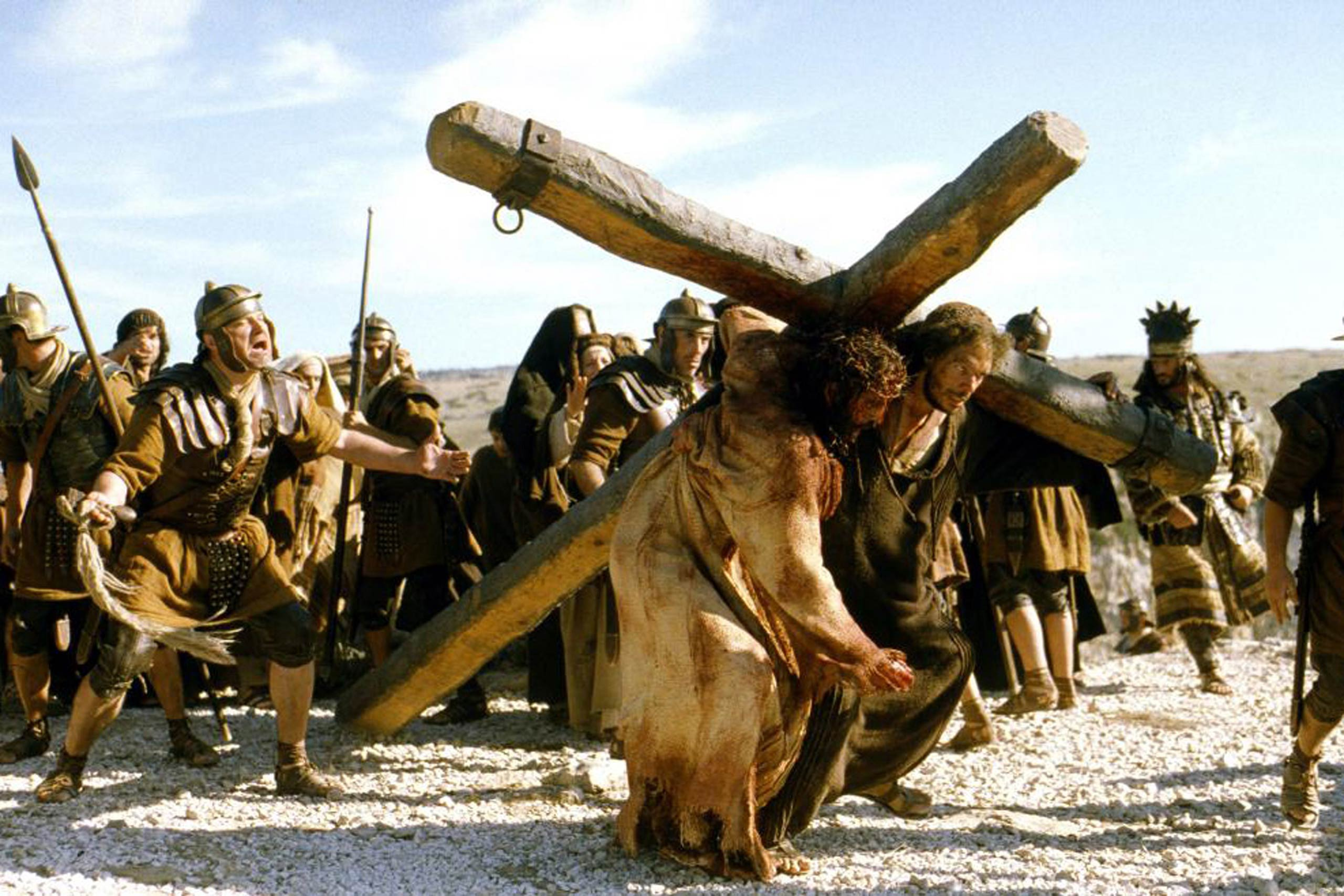 <strong><i>The Passion of the Christ</i>, 2004</strong> This film, depicting the torture and eventual death of Jesus, was one of the biggest hits of all time. But it hadn't necessarily had a clear path to acclaim; pre-release, the film was pilloried for perceived anti-Semitism. As audiences flocked over the weeks preceding Easter, some criticized director Mel Gibson for an excessively violent and sadistic vision of Jesus's death.