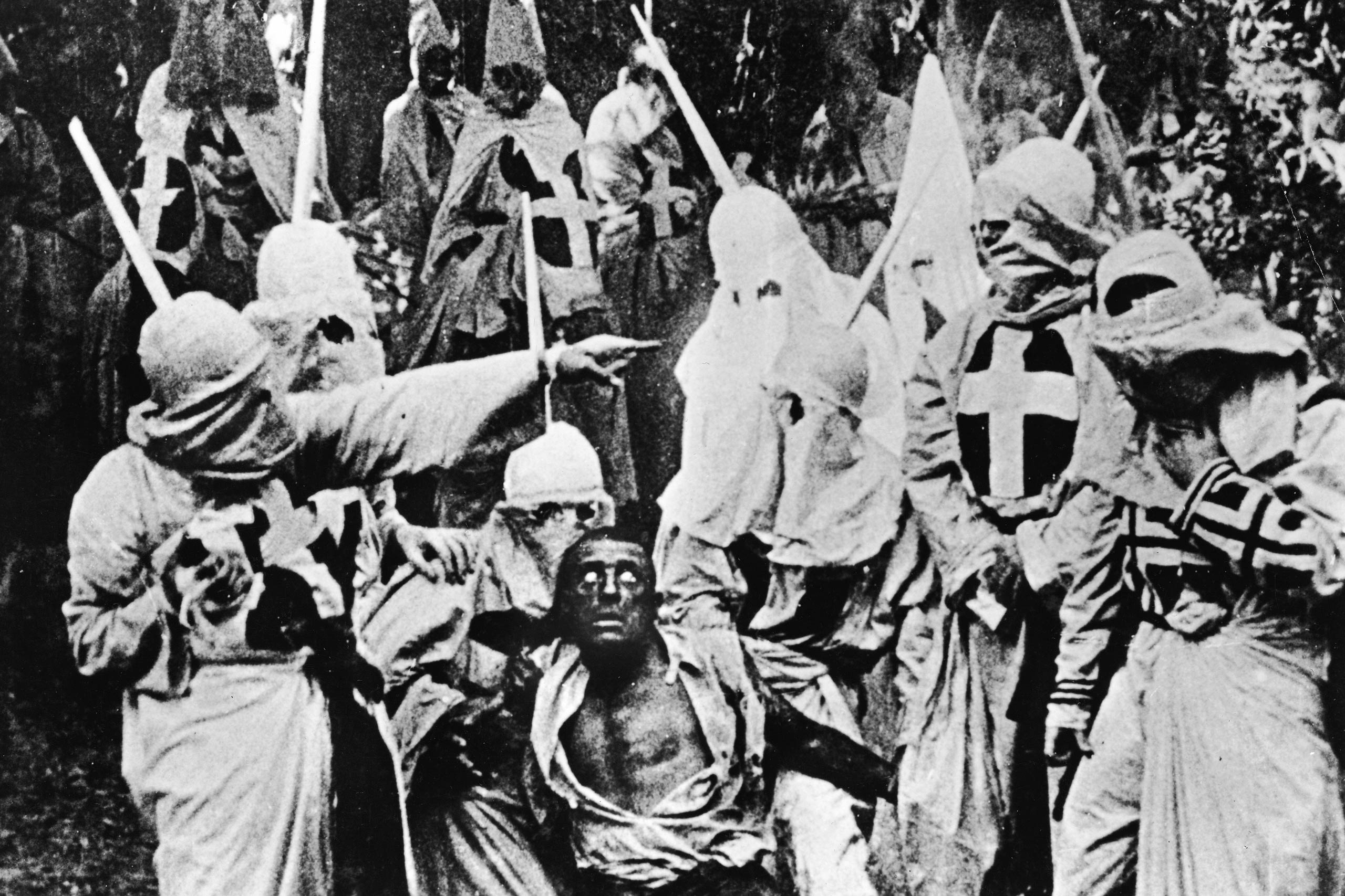 <strong><i>Birth of a Nation</i>, 1915</strong><i> Birth of a Nation</i> is held in high esteem as one of the most ambitious and innovative early films. It has also, in the near-century since its release, been derided for its use of blackface to depict black men as sexually rapacious and its characterization of the KKK as heroes. Is it possible to admire a film's technical excellence while acknowledging that its content is deeply offensive? Many film scholars, who point to <i>Birth of a Nation</i> as part of the foundation of modern film, believe so.