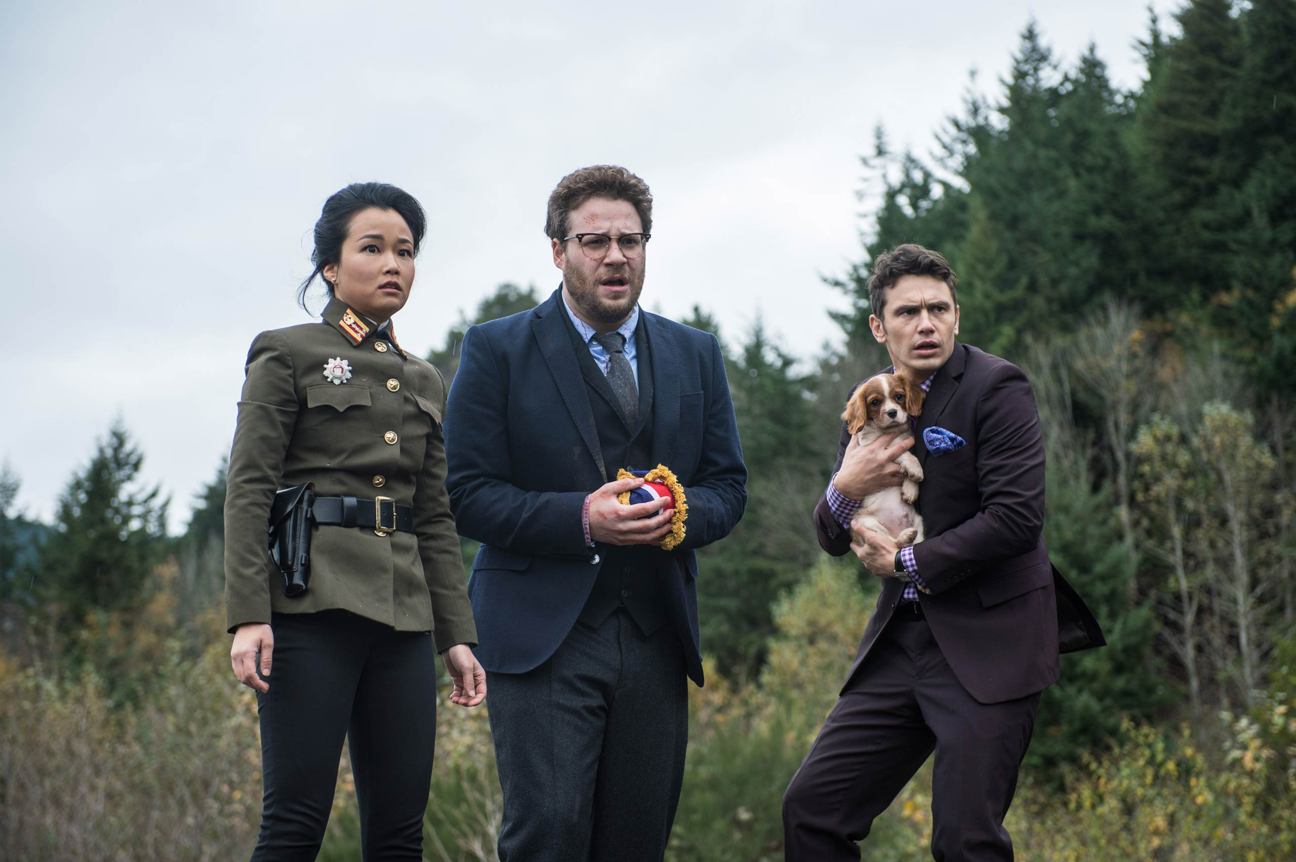 <strong><i>The Interview</i>, 2014</strong> The James Franco-Seth Rogen movie hadn't even been released when it made its greatest impact. <i>The Interview</i>, about two Americans on a mission to kill Kim Jong-un, has sparked conversations about the tastefulness -- or not -- of depicting the killing of a foreign head of state. But it also is widely seen as having sparked the Sony hacking scandal, as the hackers, known as the Guardians of Peace, have urged Sony not to release the film. The ripple effect of the email hack saw off-color remarks about Angelina Jolie, Aaron Sorkin, and President Obama between Sony executives go public.