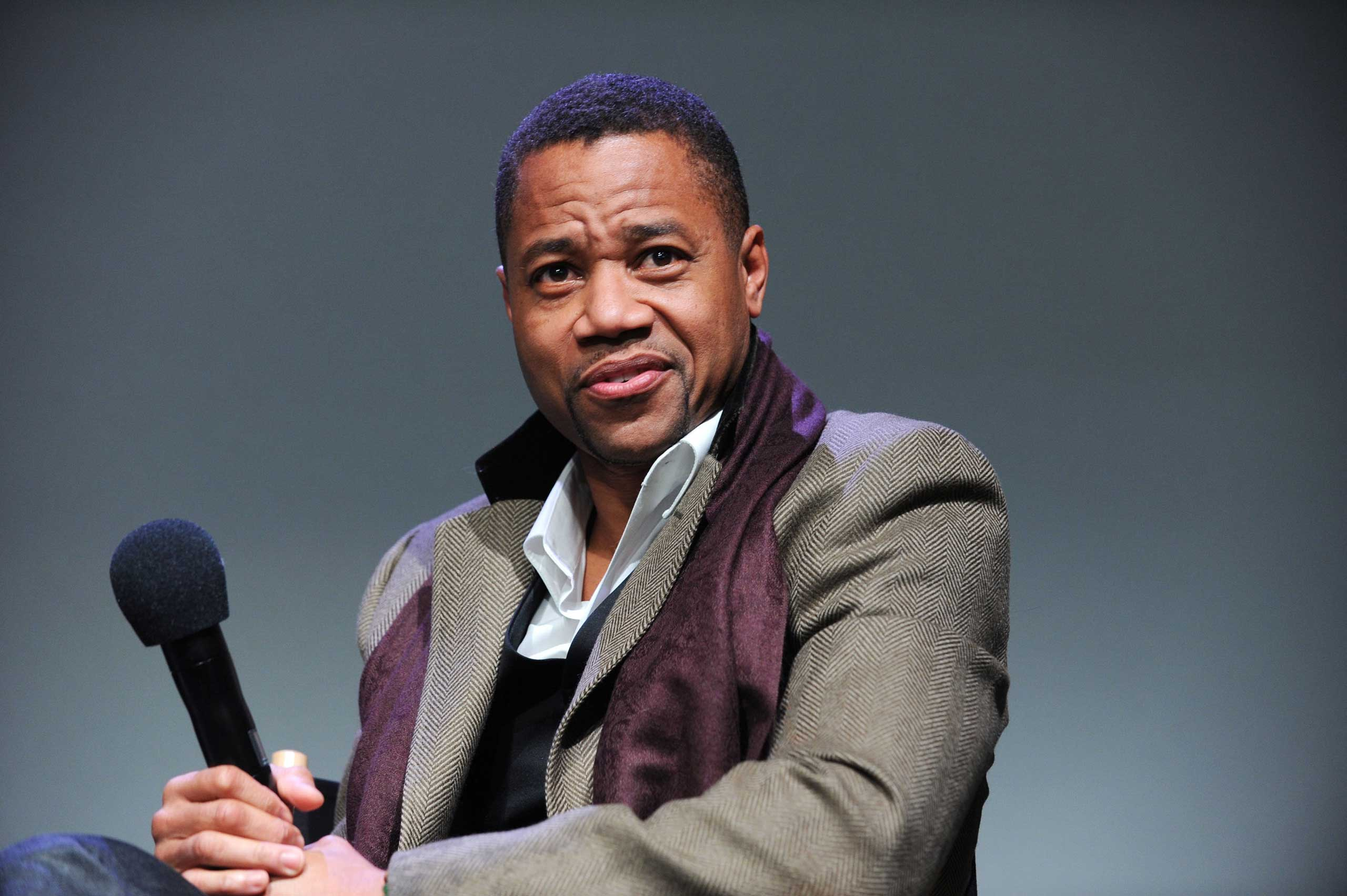 Cuba Gooding Jr. in New York, Jan. 2014.