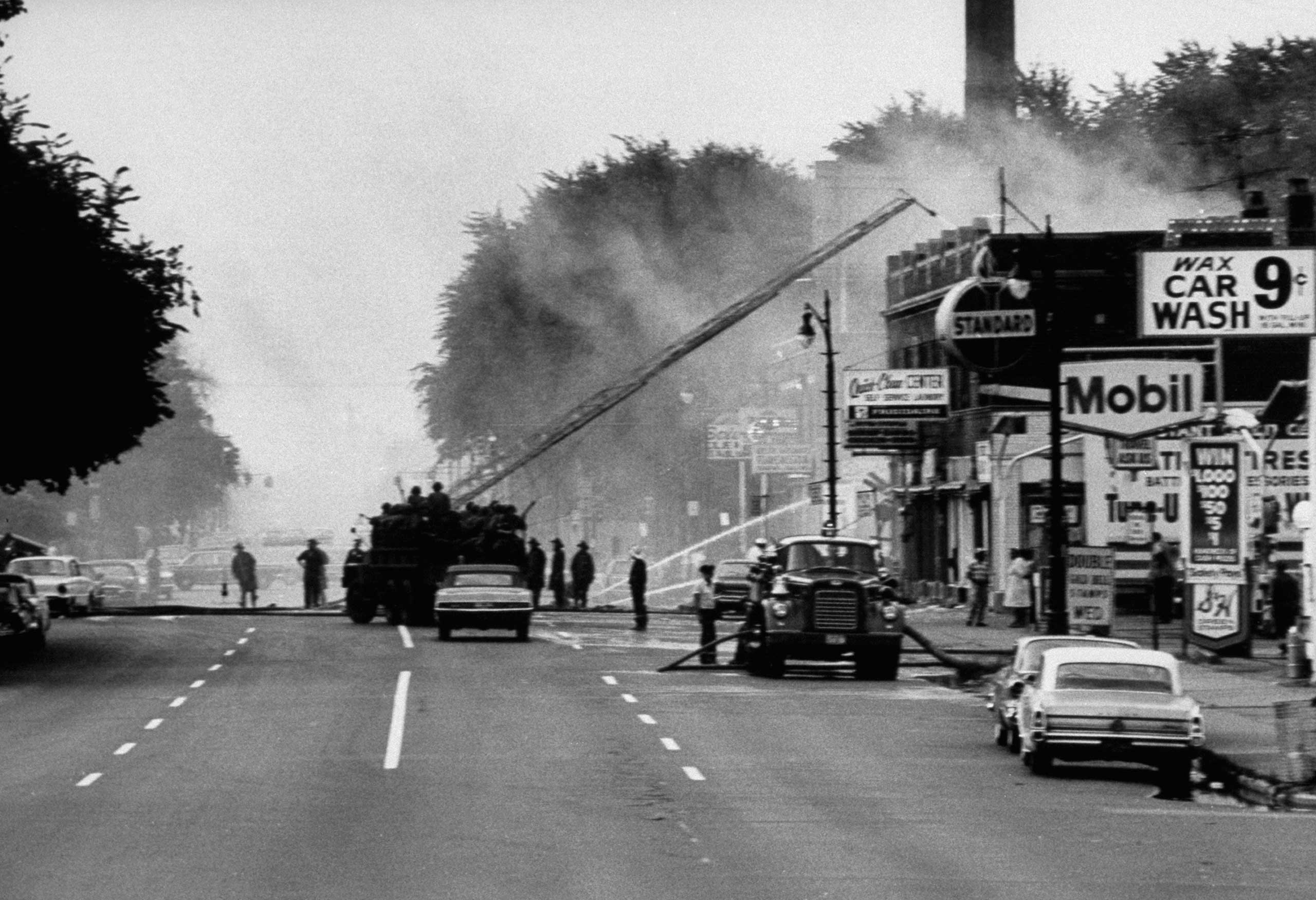 <b>Not published in LIFE.</b> Detroit, July 1967.