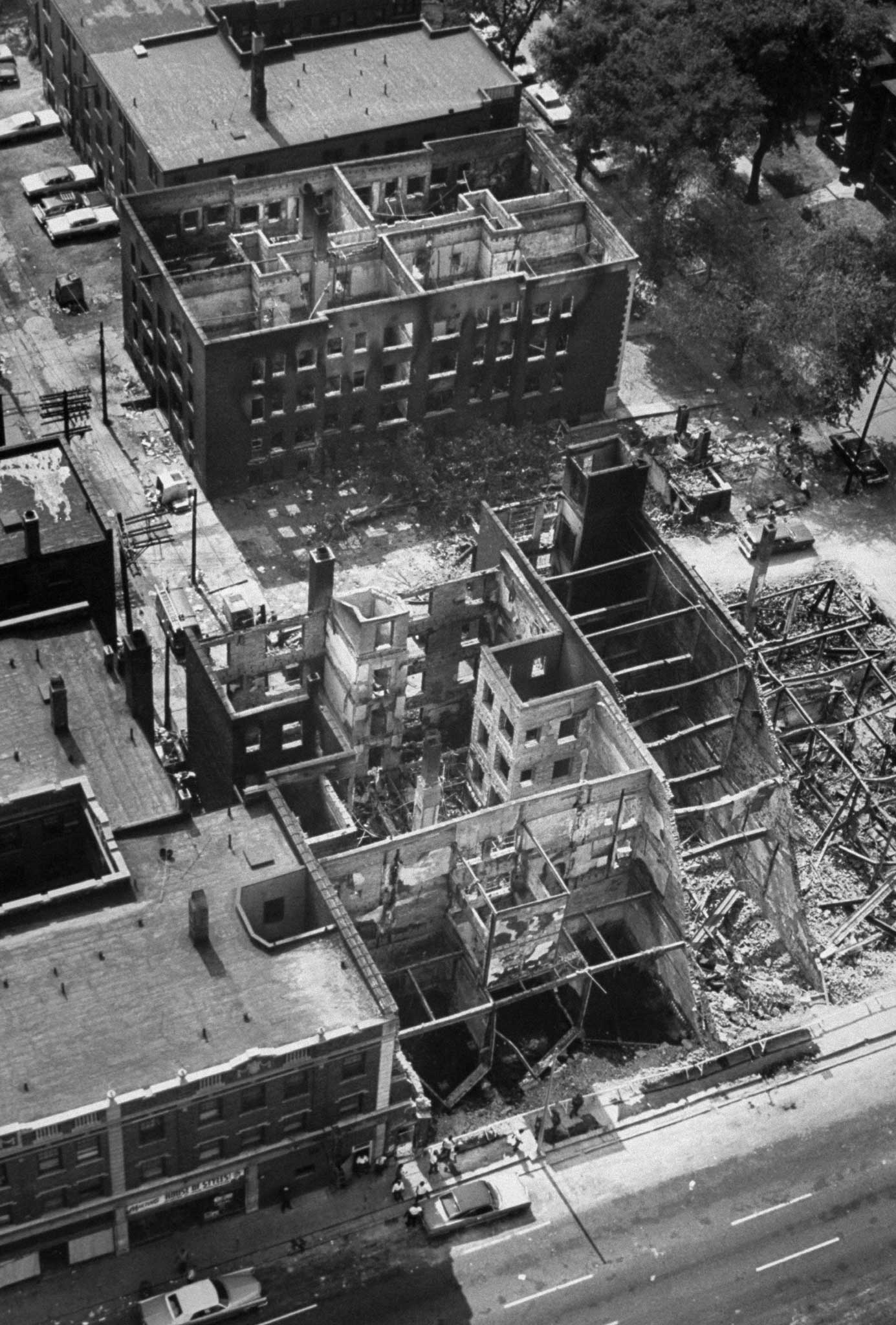 <b>Not published in LIFE.</b> Detroit, July 1967. Aftermath of riots.