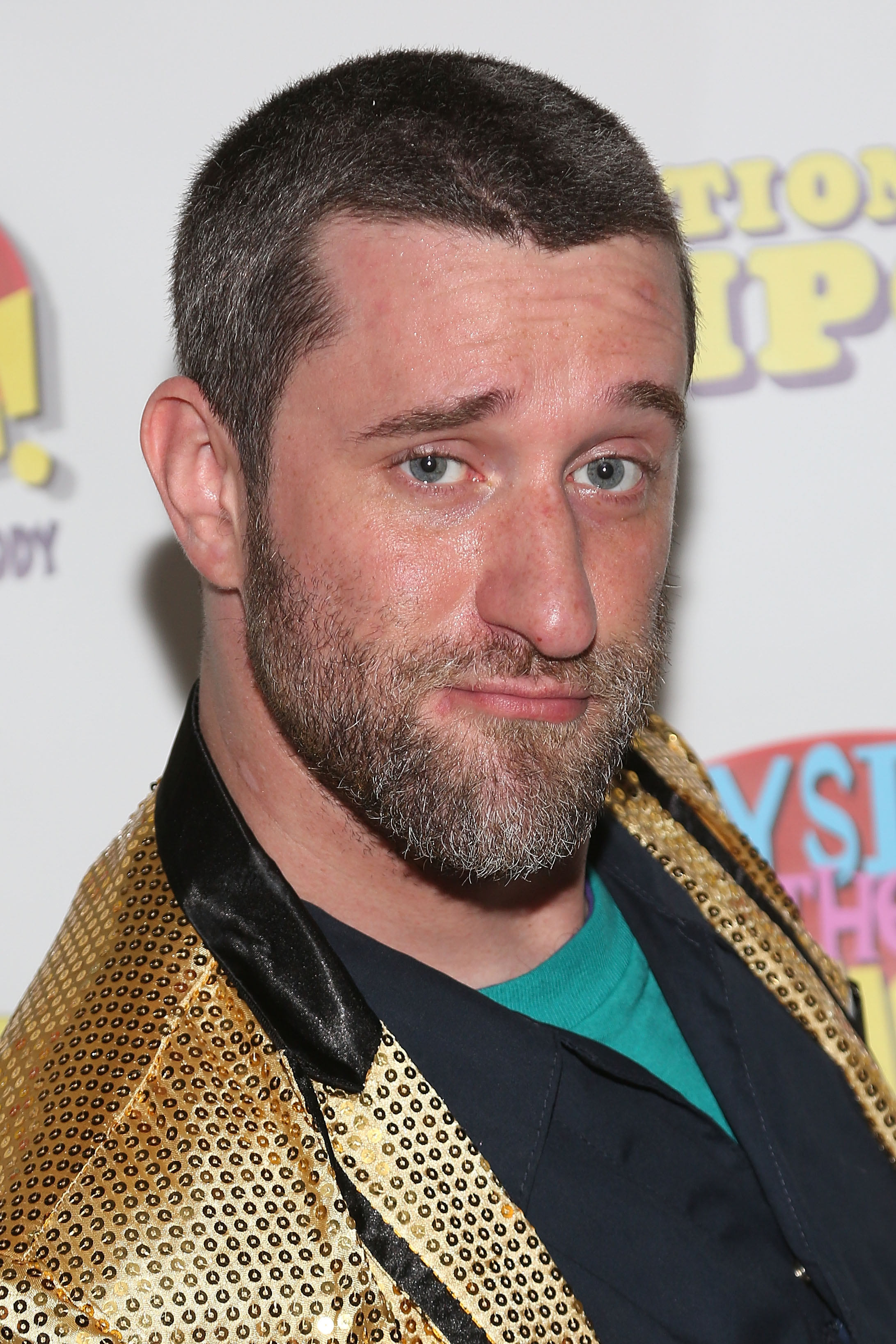 Actor Dustin Diamond attends the sold-out opening performance of  Bayside! The Musical!  at Theatre 80 St. Marks on Sept. 11, 2014 in New York City.