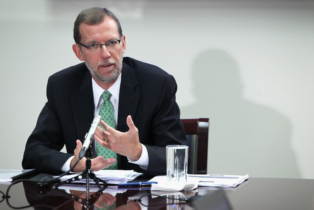 CBO Director Elmendorf on Aug. 27, 2014, in Washington, DC.
