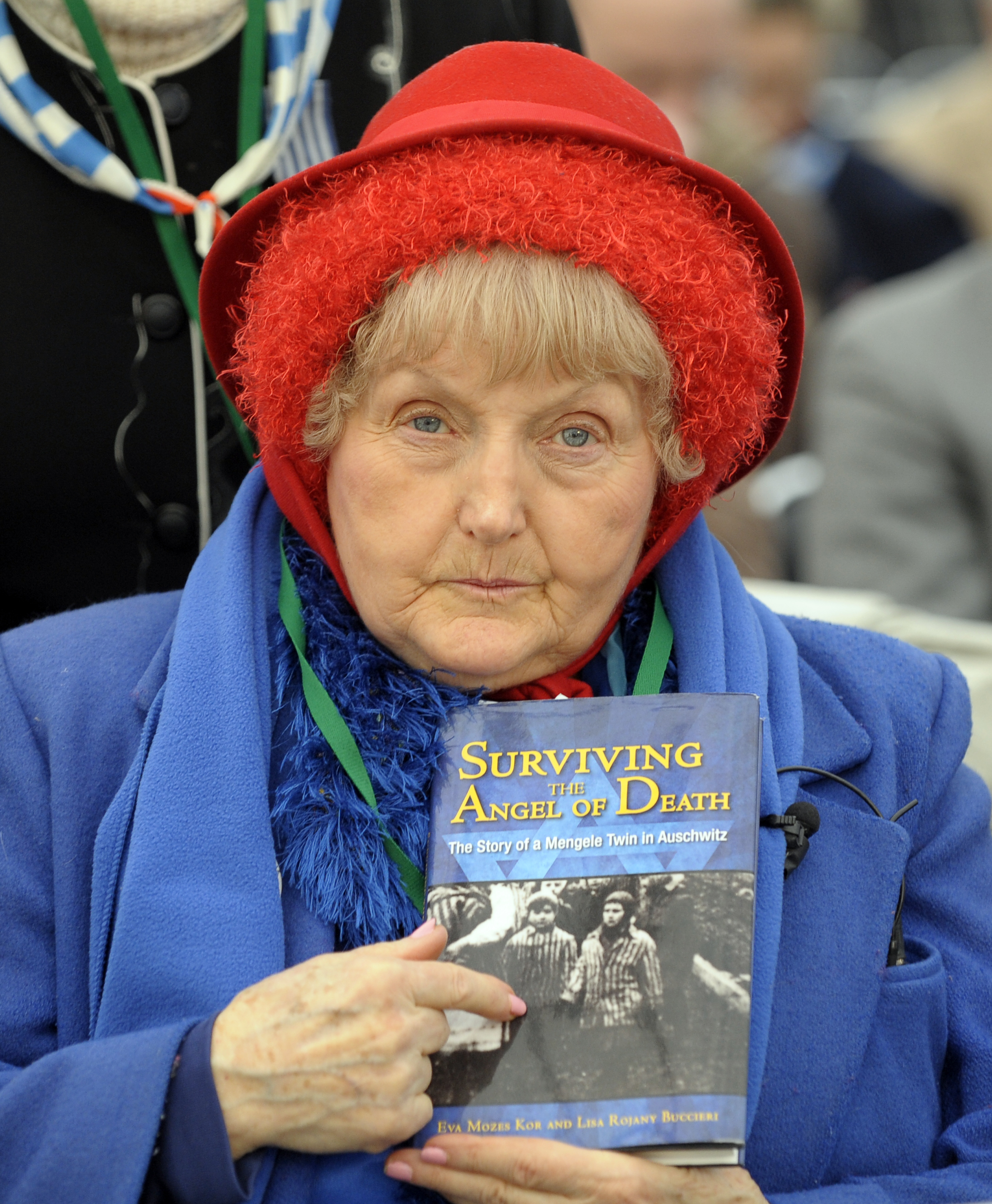 Eva Mozes Kor, a twin who survived pseudo-medical experiments at the Nazi Auschwitz death camp, on Jan. 27, 2010.