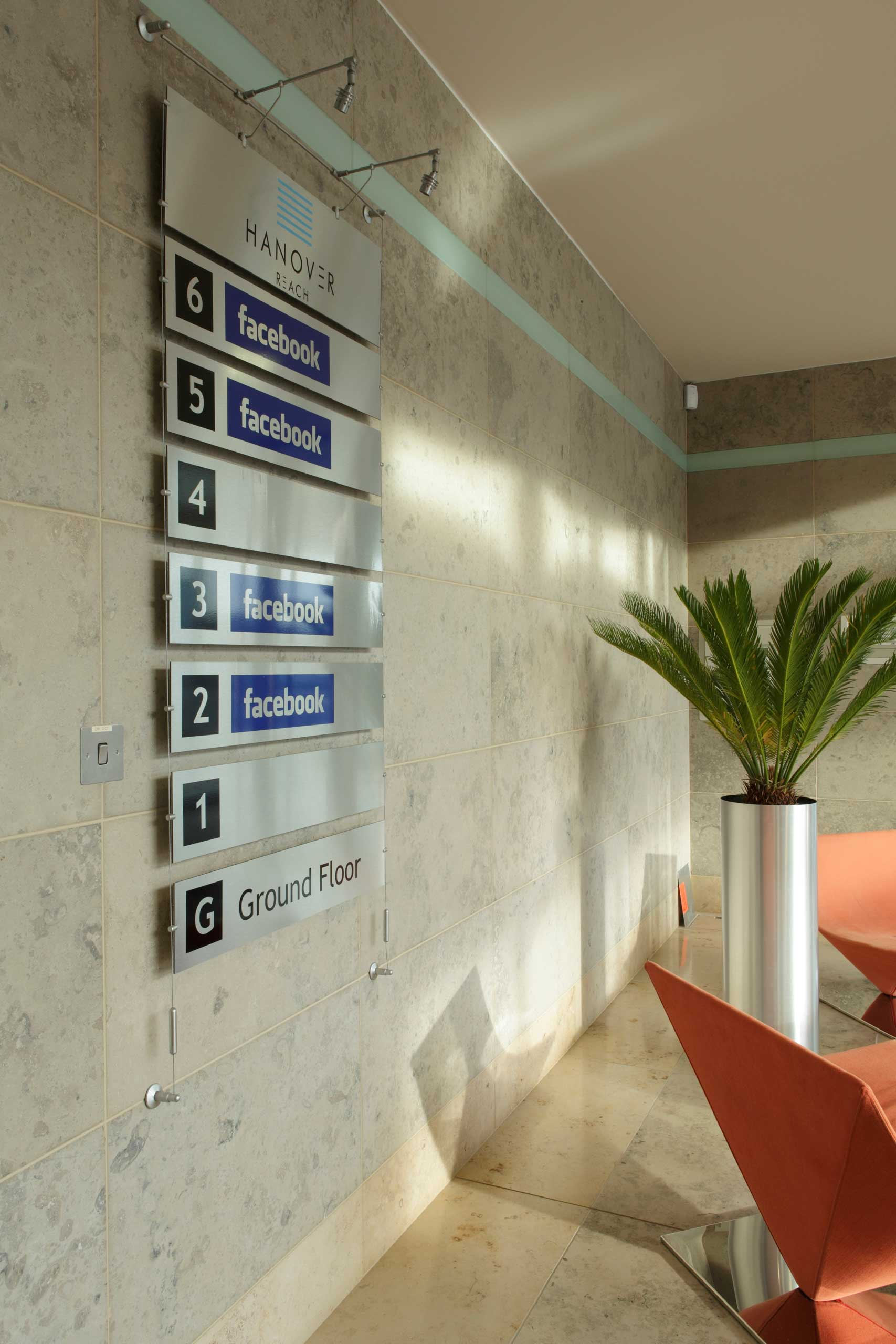 Facebook offices in Dublin, Ireland in 2010.