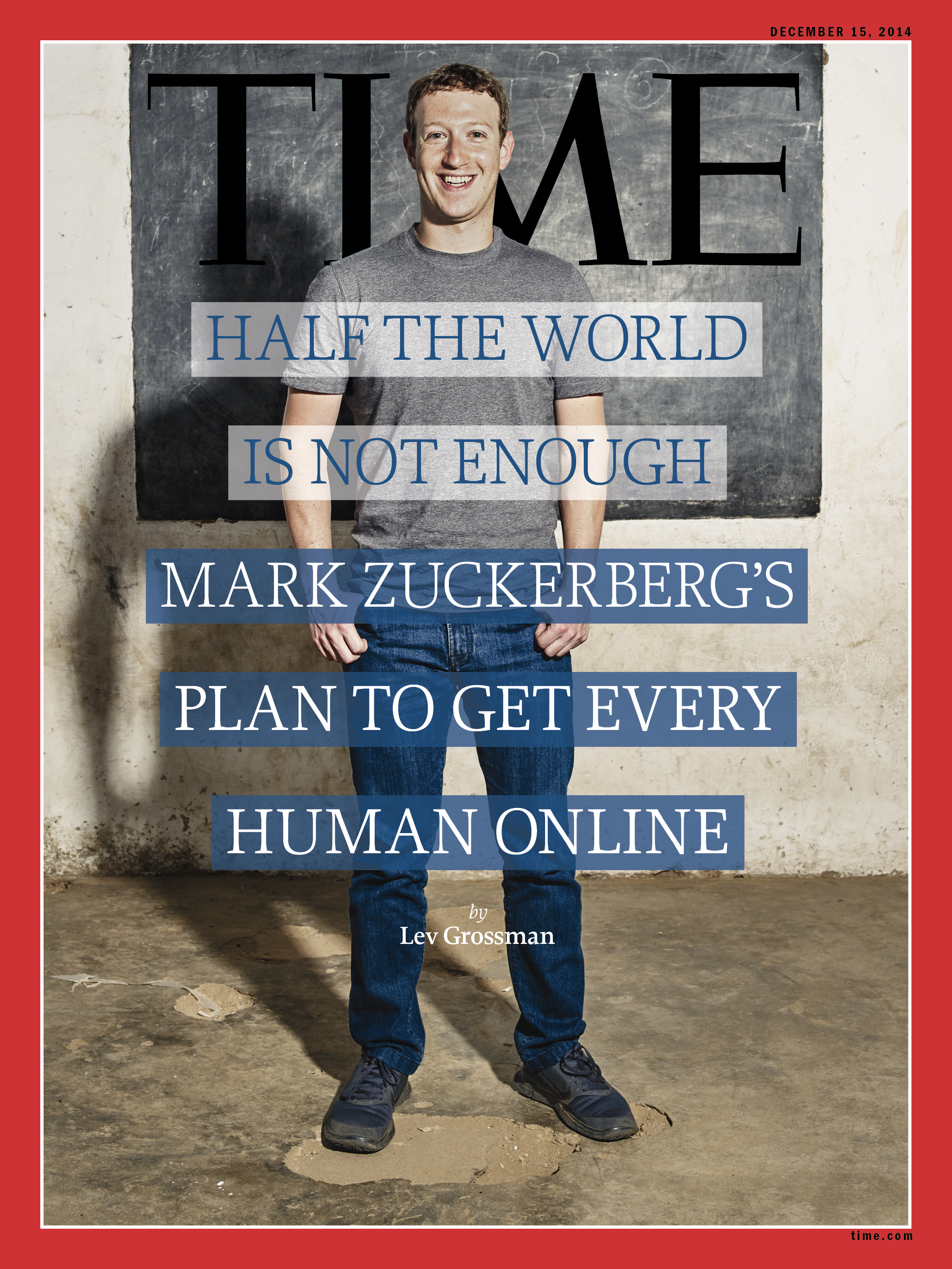 Facebook's Mark Zuckerberg on TIME Magazine's cover
