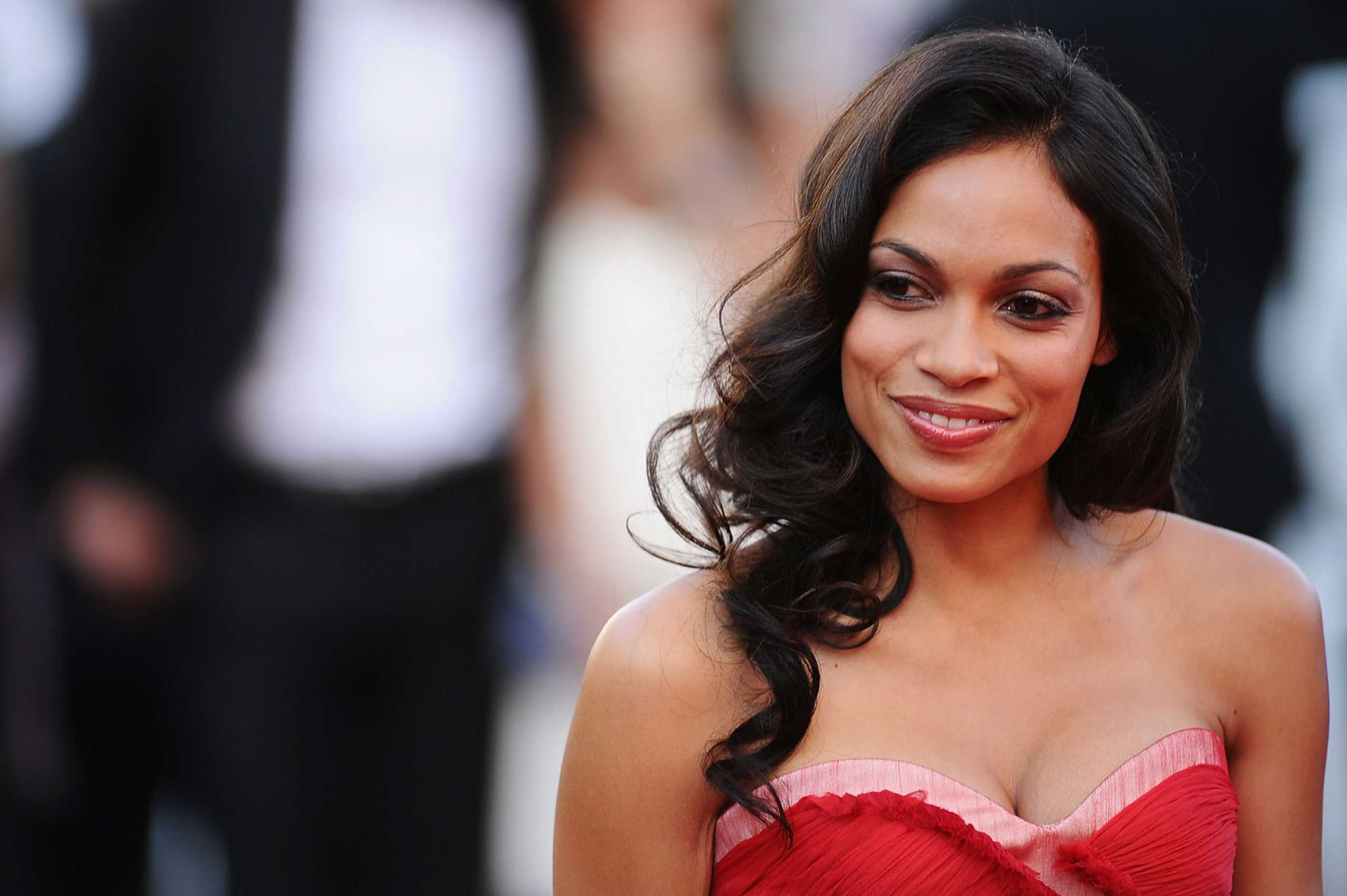 <b>Rosario Dawson</b> The Hollywood starlet was born in New York City to a mother of Puerto Rican and Afro-Cuban descent.