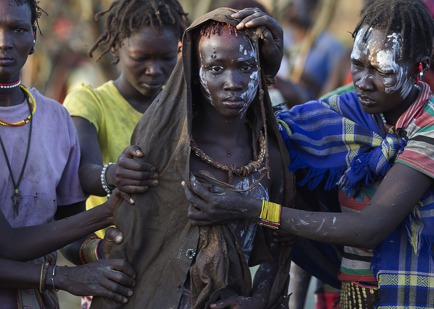The Daily Beast: Female Circumcision Ceremony in KenyaA Pokot girl, covered in animal skins, walks to a place where she will rest after being circumcised in a tribal ritual in a village about 80 kilometres from the town of Marigat in Baringo County, Kenya, Oct 16, 2014.