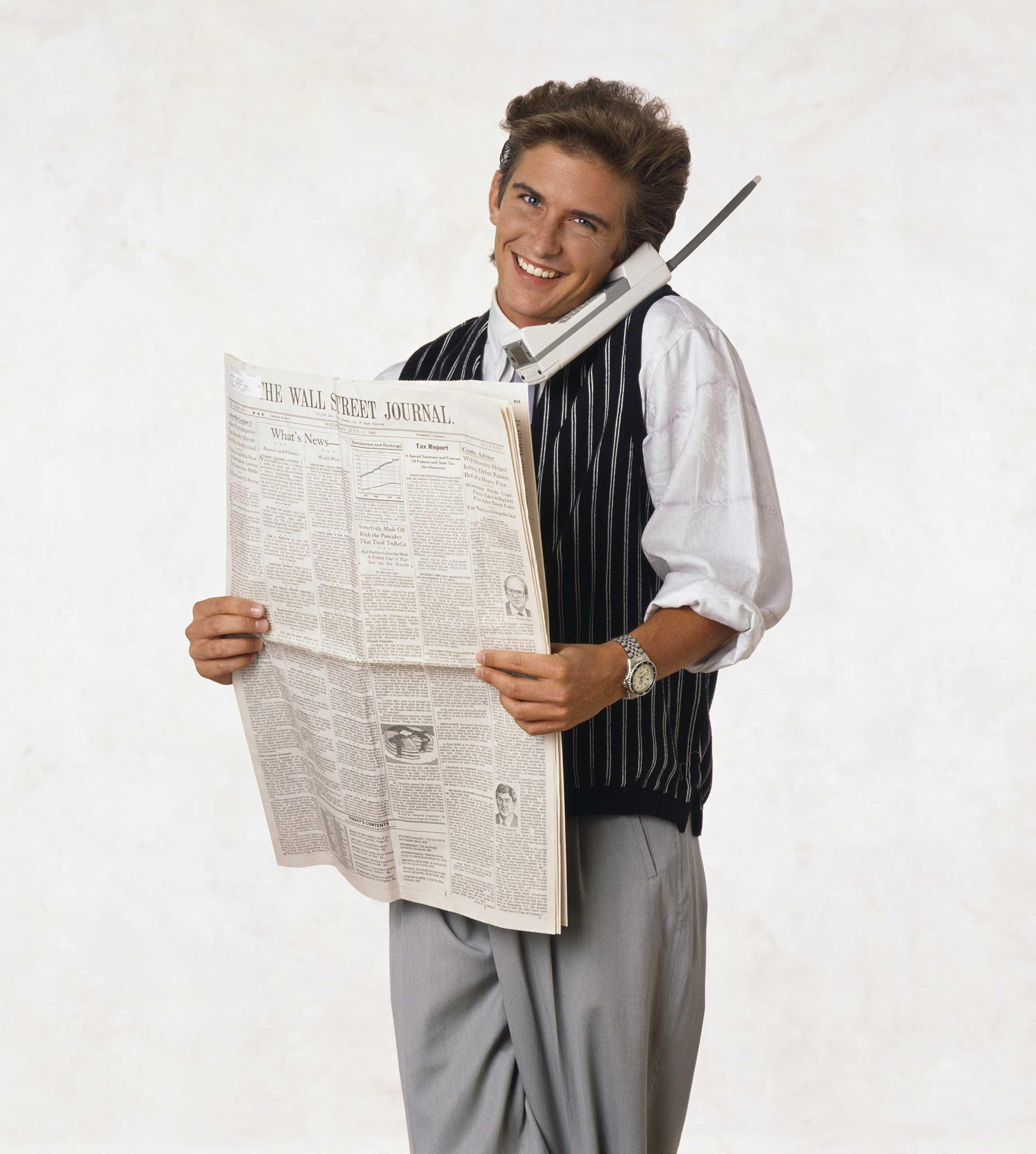 Charlie Schlatter as Ferris Bueller.