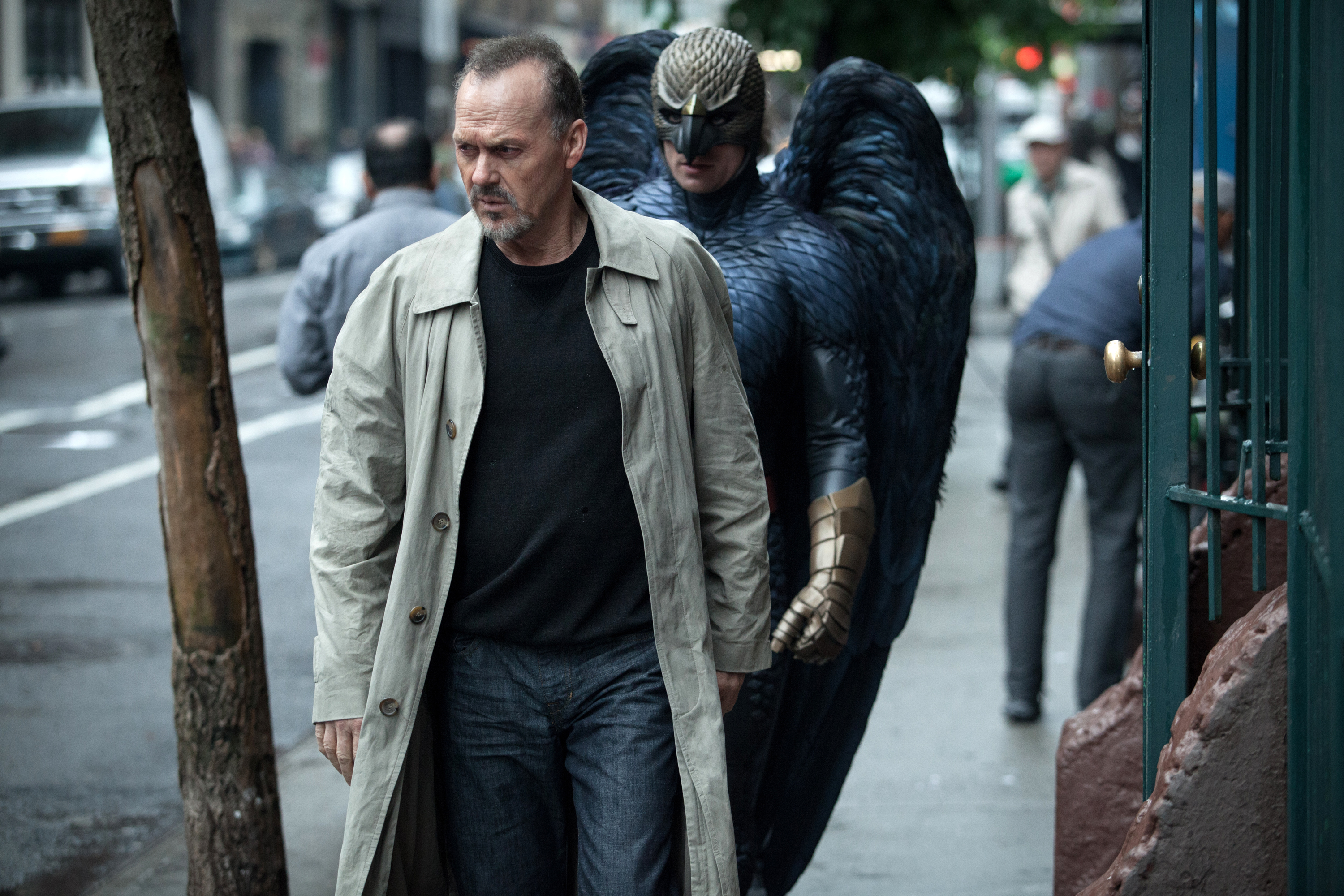 In this image released by Fox Searchlight Pictures, Michael Keaton portrays Riggan in a scene from Birdman
