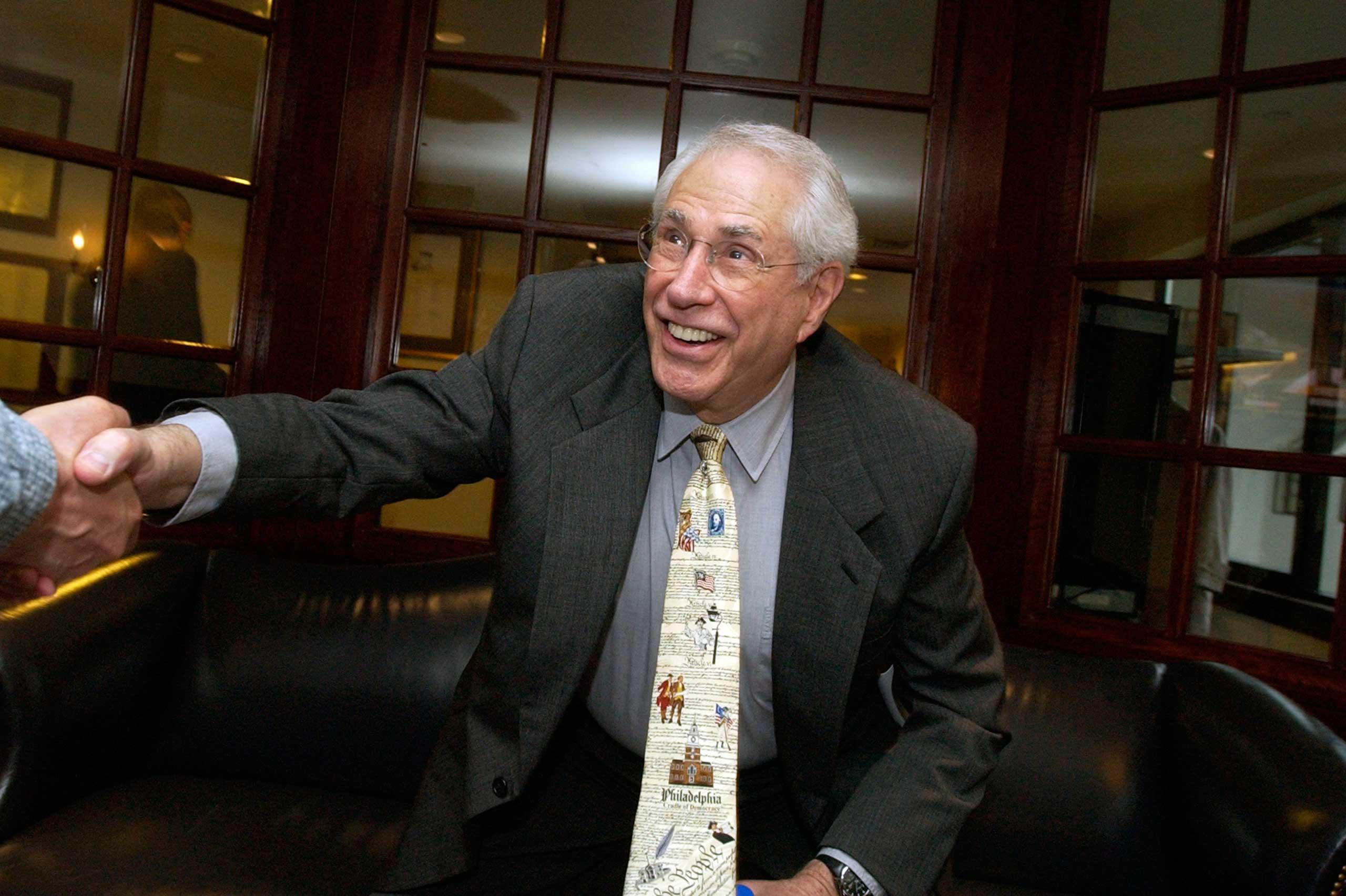Former Alaska Sen. Mike Gravel in 2008.