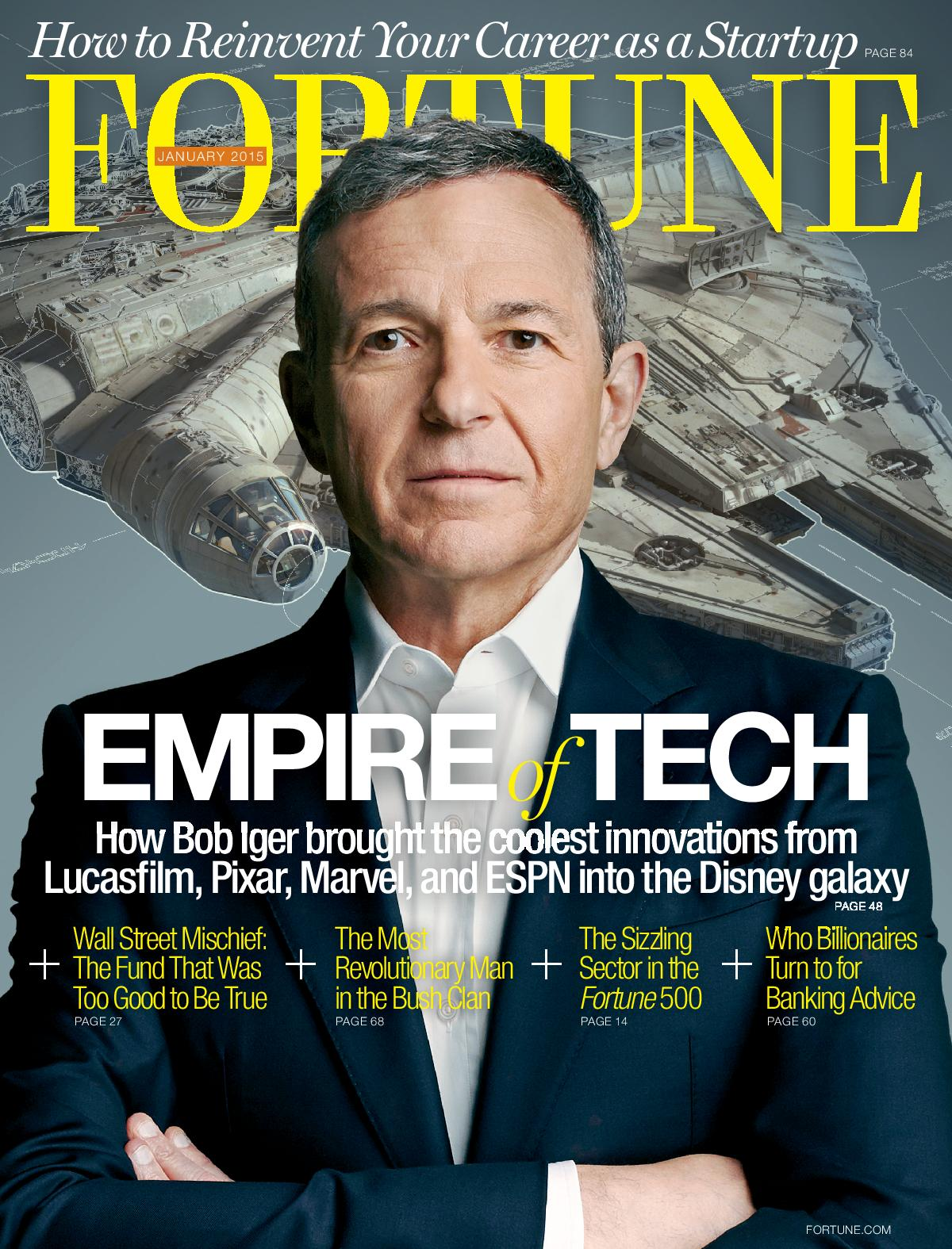 Fortune's January 2015 cover