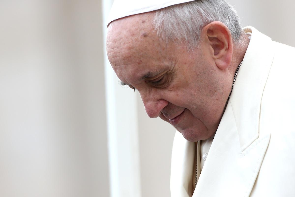 Pope Francis on Dec. 3, 2014 in Vatican City, Vatican.