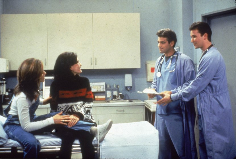 George Clooney & Noah Wyle Guest On 'Friends'