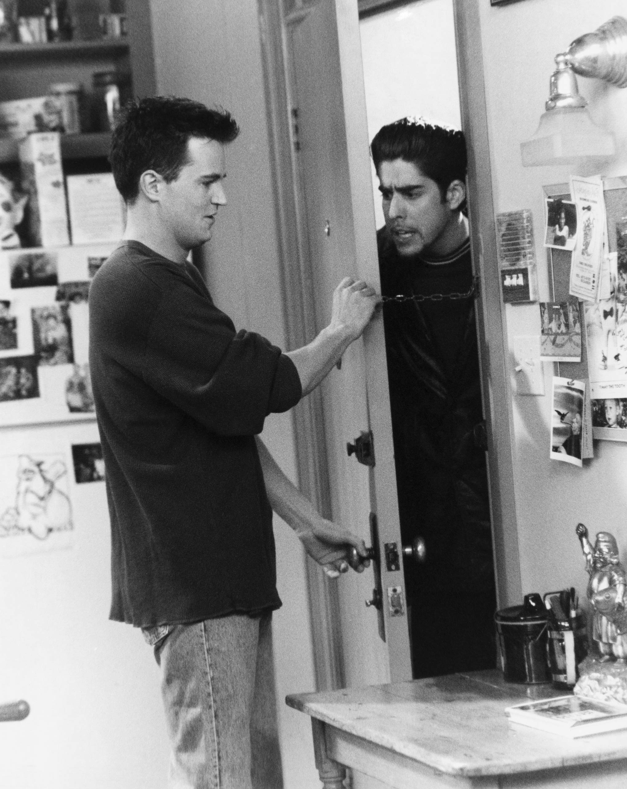 <strong>Adam Goldberg</strong> – After Joey moved out, Adam Goldberg played Eddie, Chandler's creepy roommate