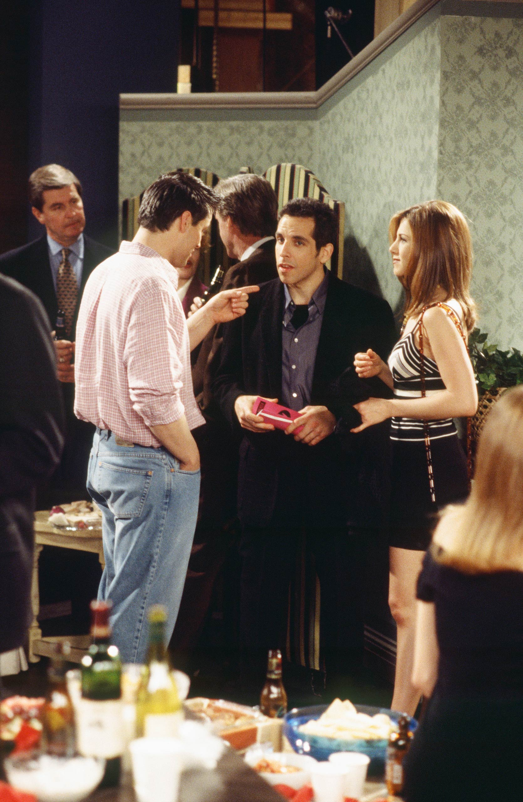 <strong>Ben Stiller</strong> – Ben Stiller appeared as Rachel's date who angrily yells at everyone