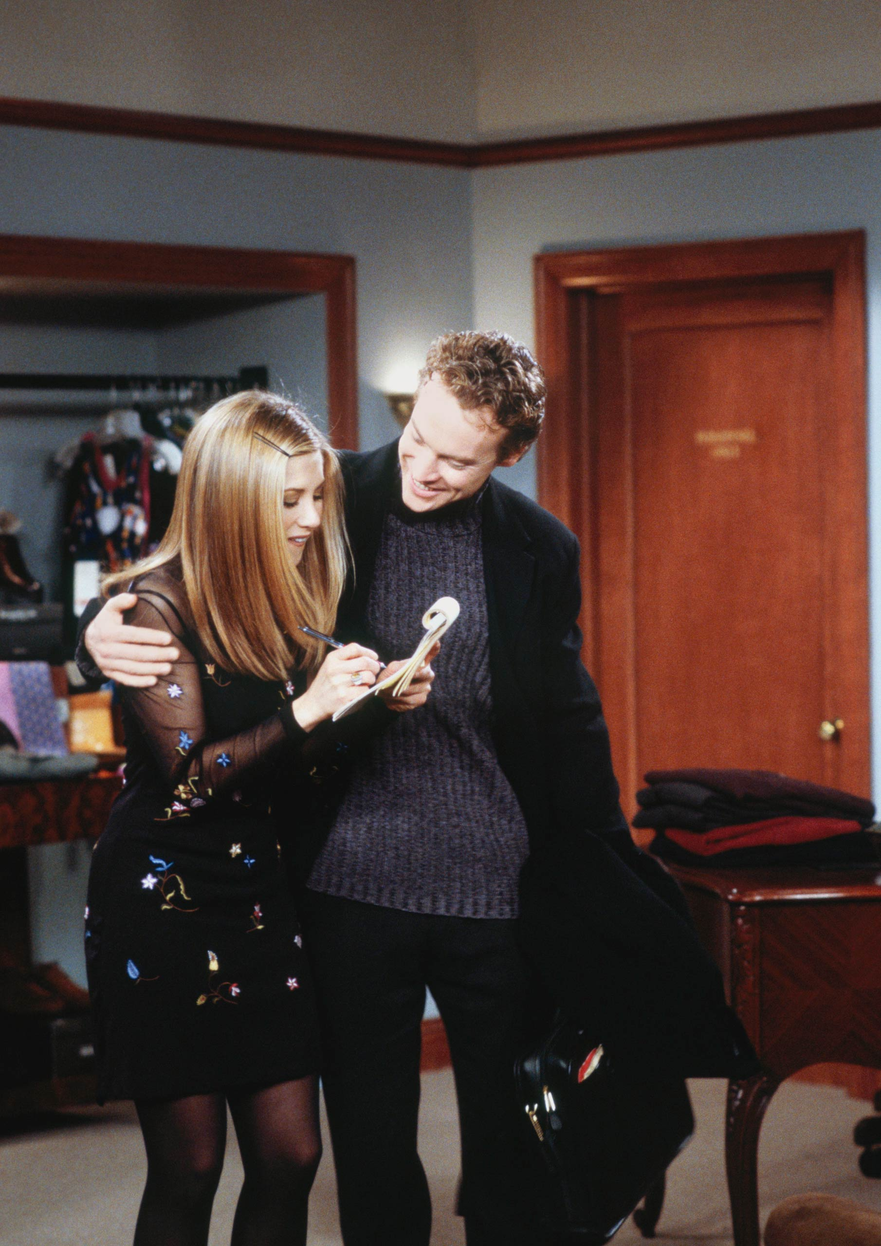 <strong>Tate Donovan</strong> – Real–life couple Jennifer Anniston and Tate Donovan played a couple on the show, too