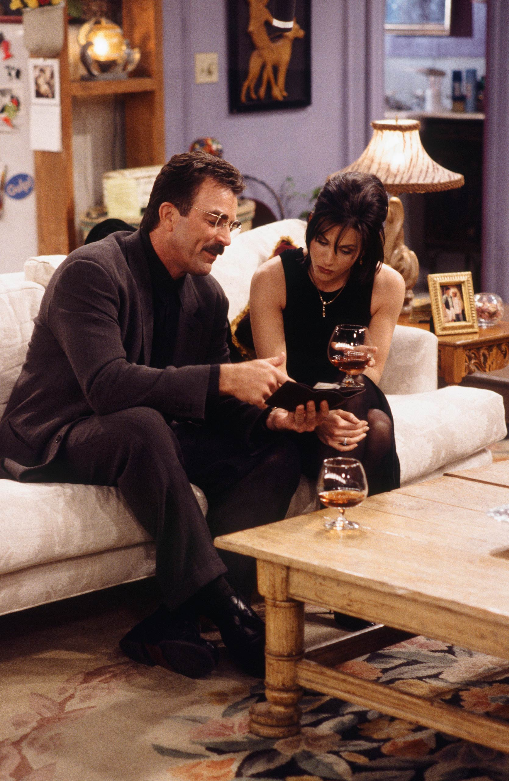 <strong>Tom Selleck</strong> – Tom Selleck's mustachioed Dr. Richard Burke dates Monica on-and-off for several seasons