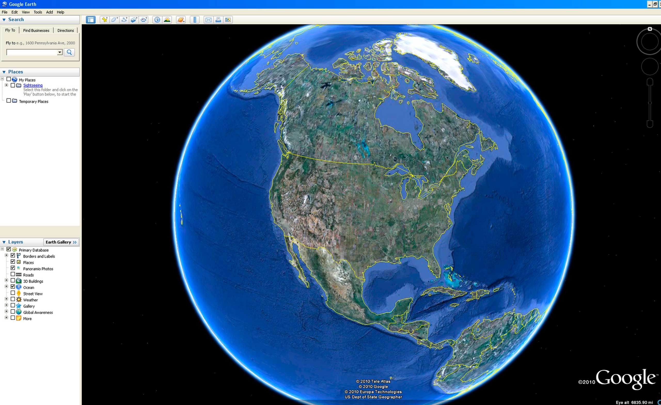 <strong>Google Earth</strong>                                                                      Google's virtual map of the Earth allows users to tour the earth with 3-D satellite images. The project, which dates back to 2004, has already found significant applications in disaster relief.