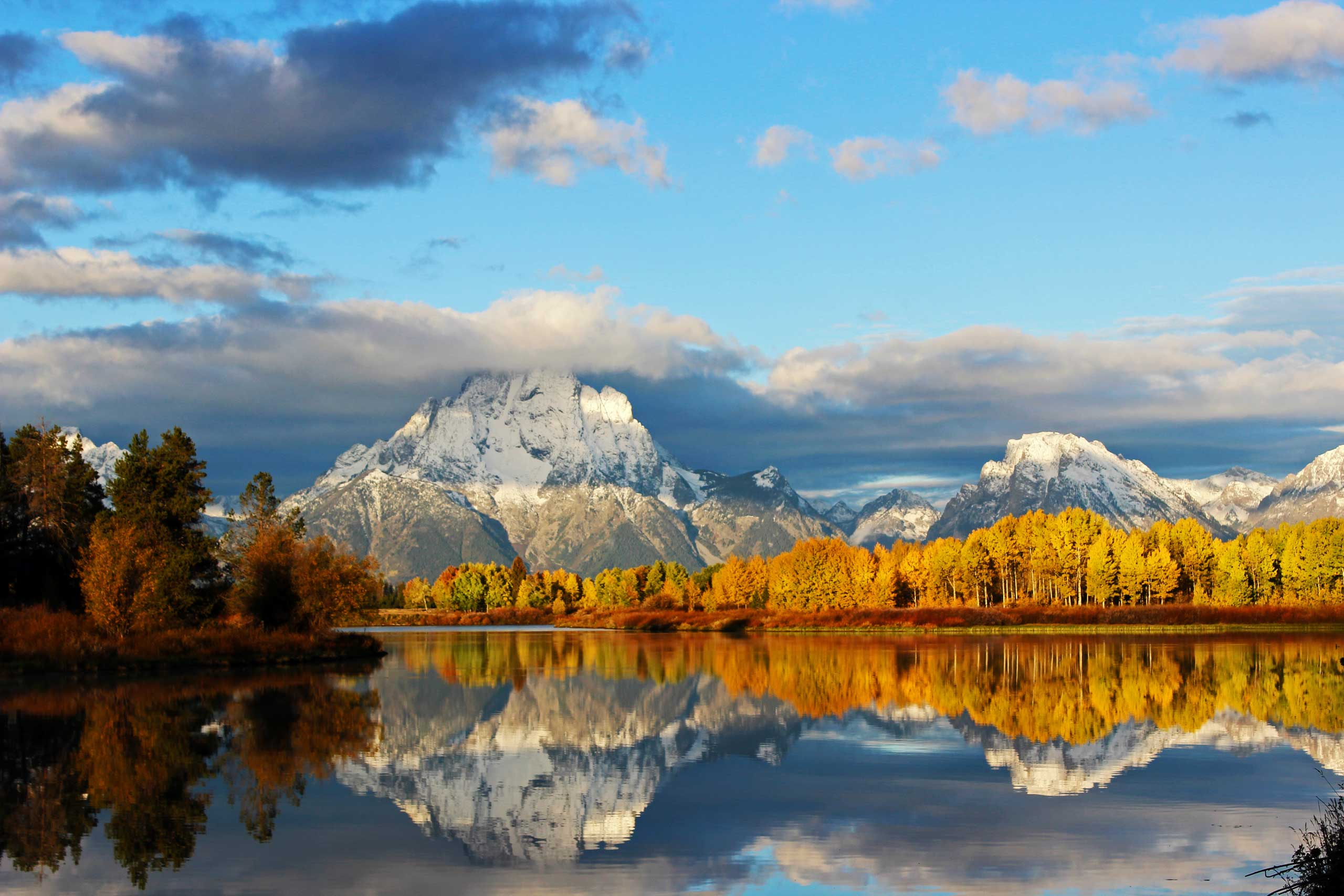 Our public lands give some of the most spectacular views, like this one of Grand Teton National Park in Wyoming