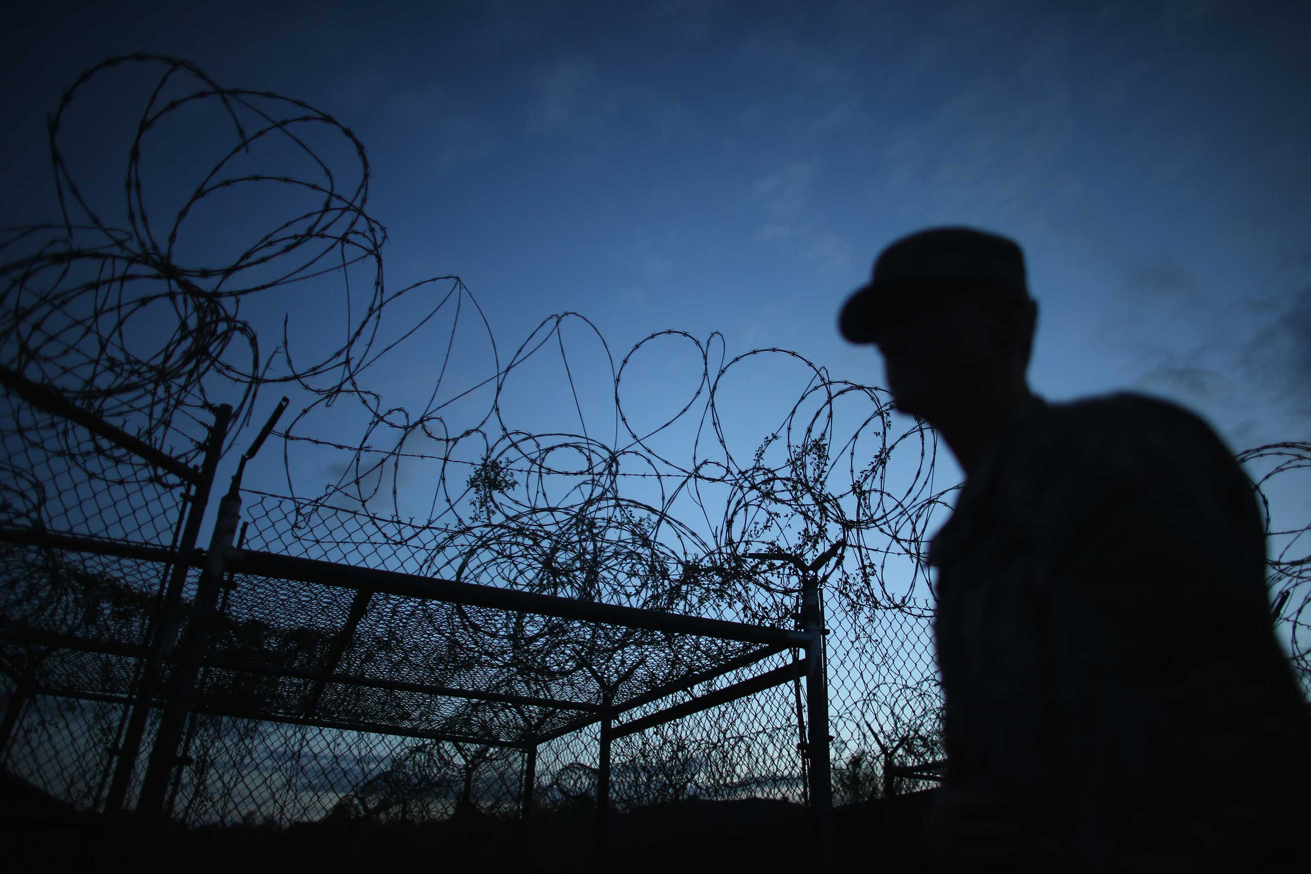 Camp X-Ray was the first detention facility to hold 'enemy combatants' at Guantanamo.