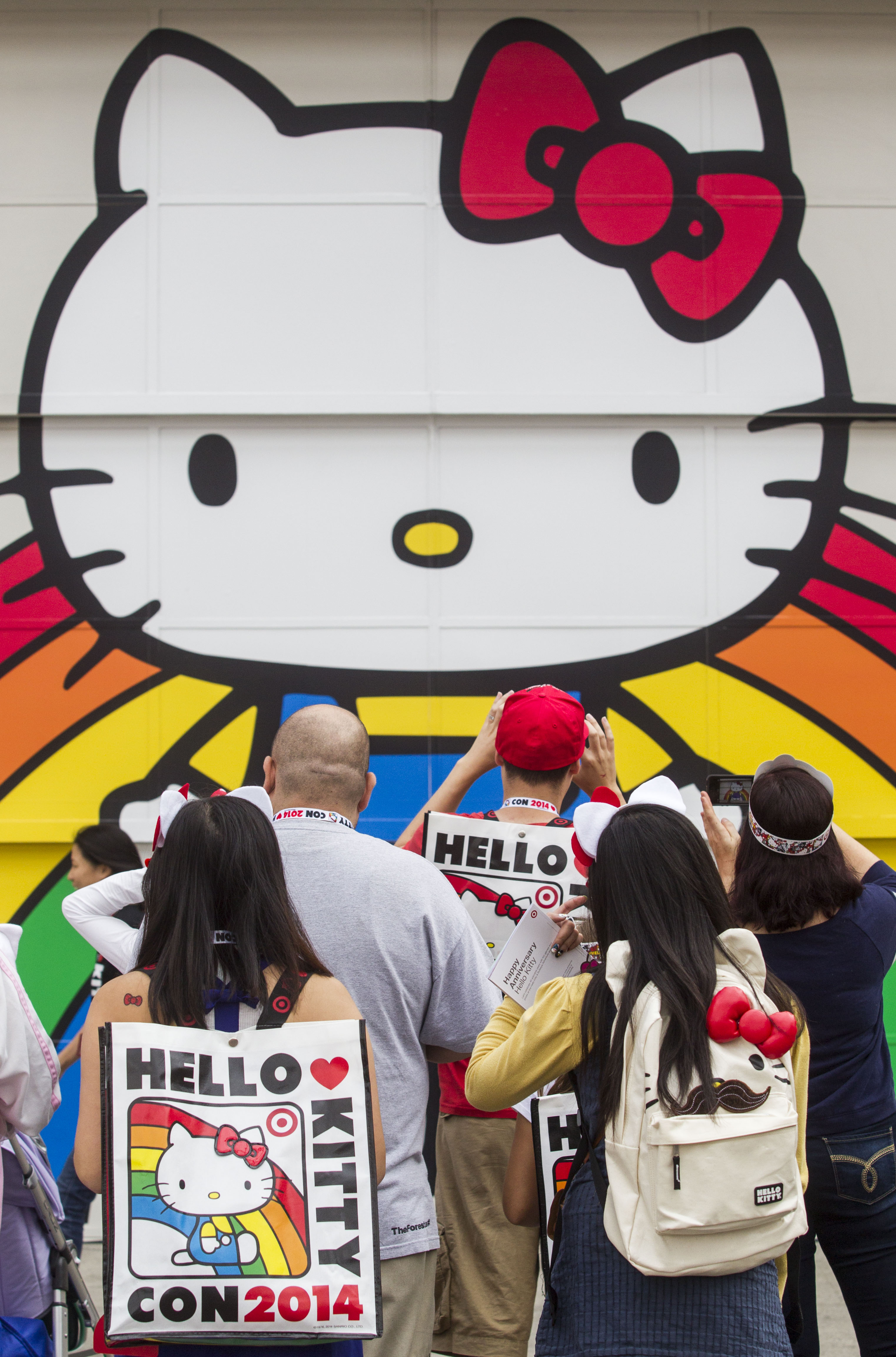 The Hello Kitty Con 2014 at the Geffen Contemporary at MOCA on Oct. 31 2014, in Los Angeles.