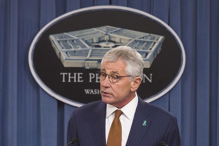 Defense Secretary Chuck Hagel releases the latest Pentagon sexual-assault report Thursday.