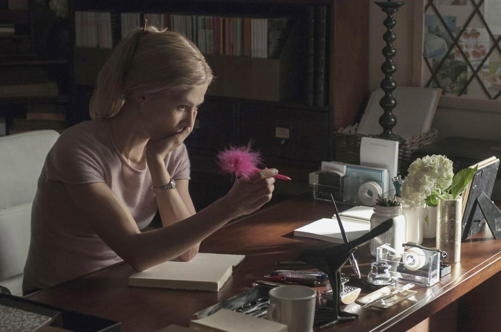GONE GIRL, Rosamund Pike, 2014. ph: Merrick Morton/TM & copyright ©20th Century Fox Film Corp. All
