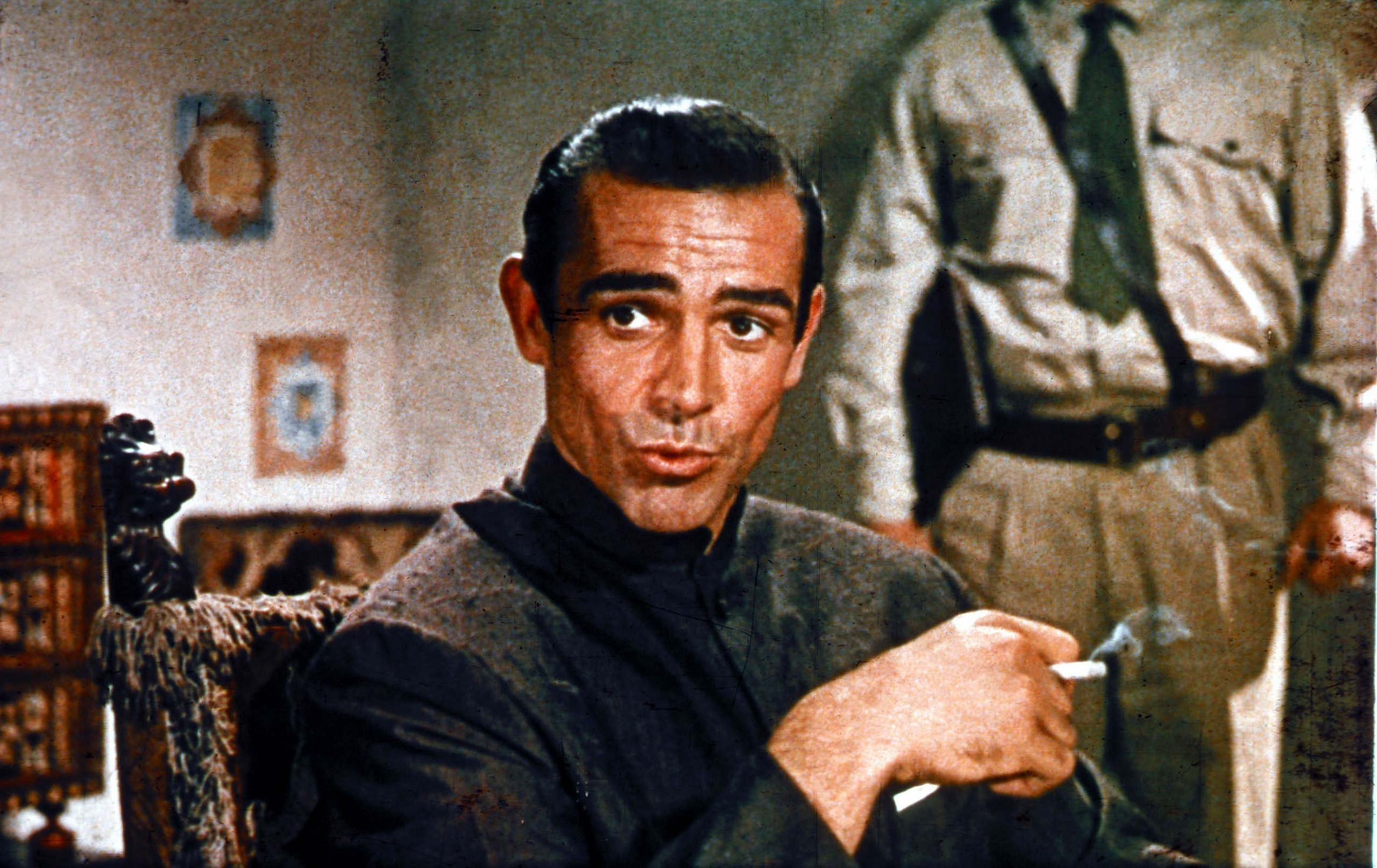 <strong><i>Dr. No</i> (1962) - Sean Connery</strong>
