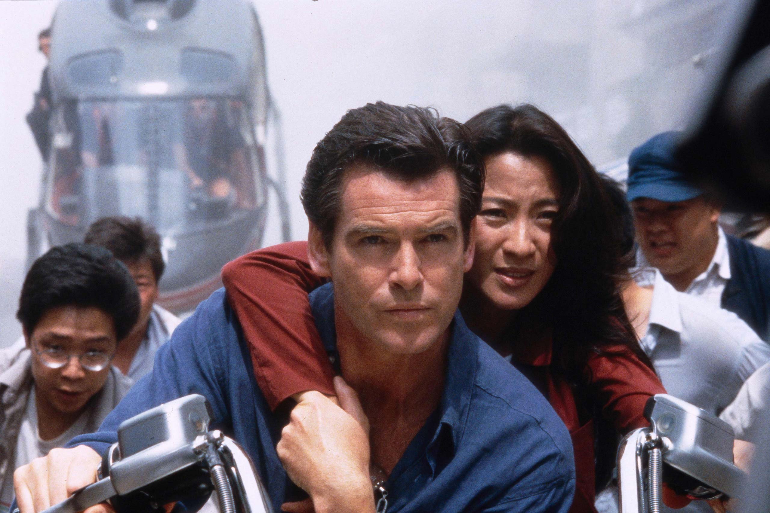 <strong><i>Tomorrow Never Dies</i> (1997) - Pierce Brosnan</strong>