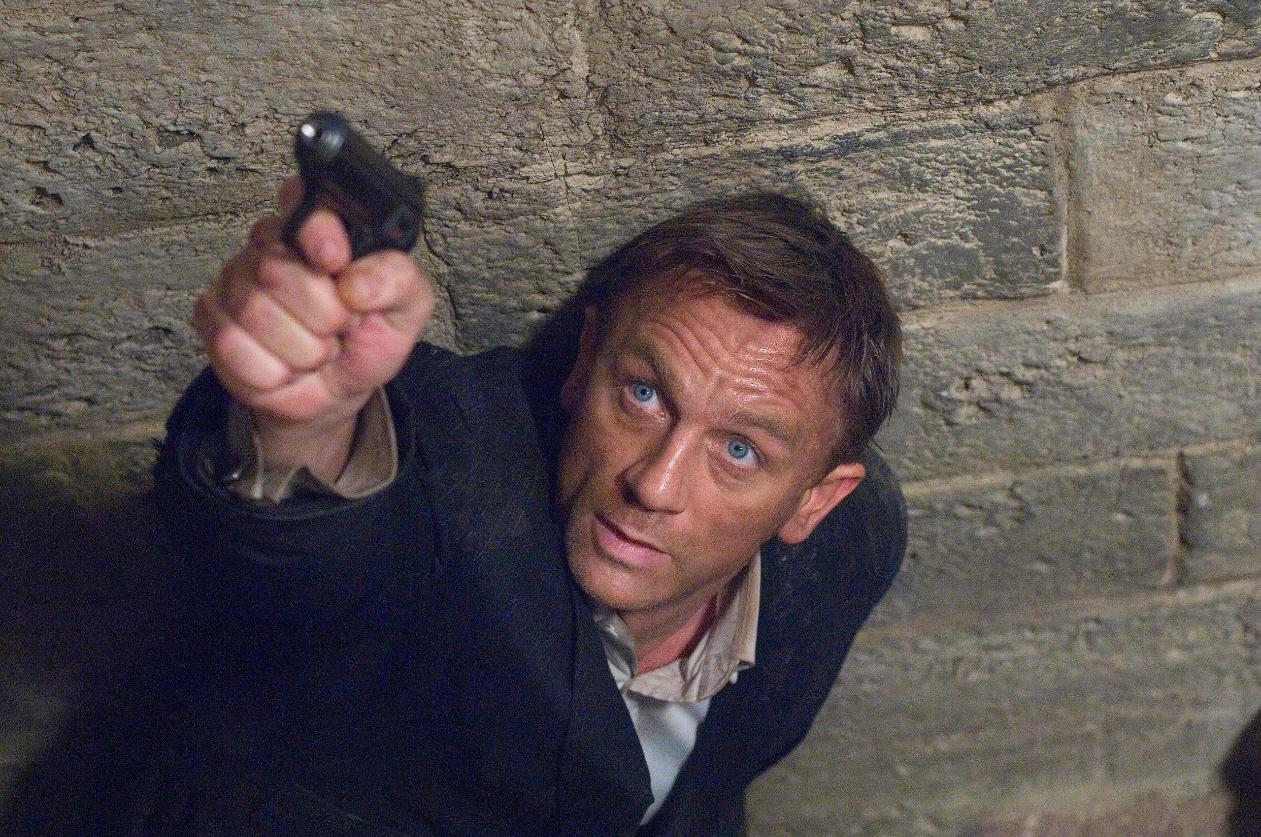 <strong><i>Quantum of Solace</i> (2008) - Daniel Craig</strong>