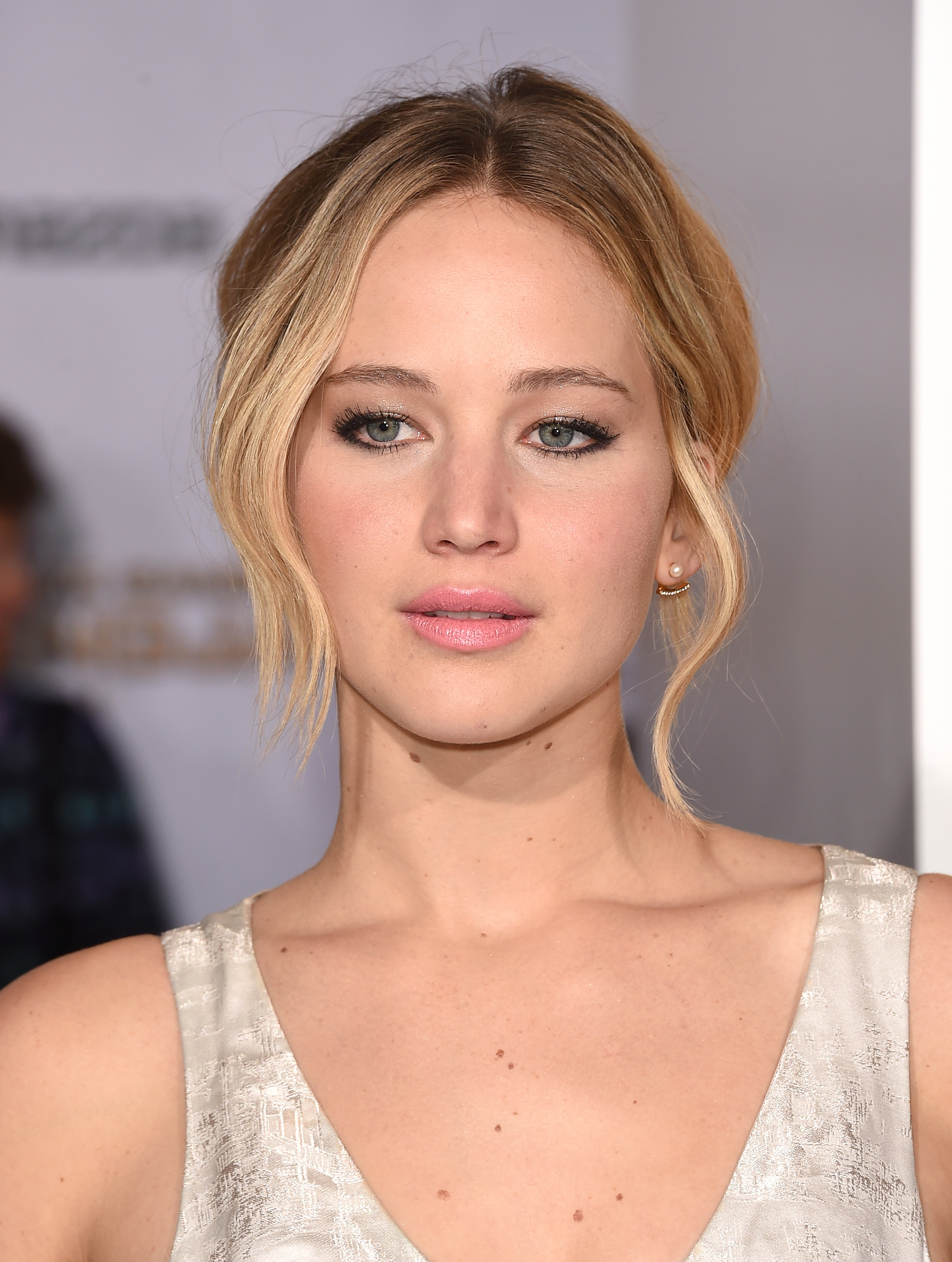 Jennifer Lawrence attends the premiere of 'The Hunger Games: Mockingjay - Part 1' on Nov. 17, 2014 in Los Angeles, California.
