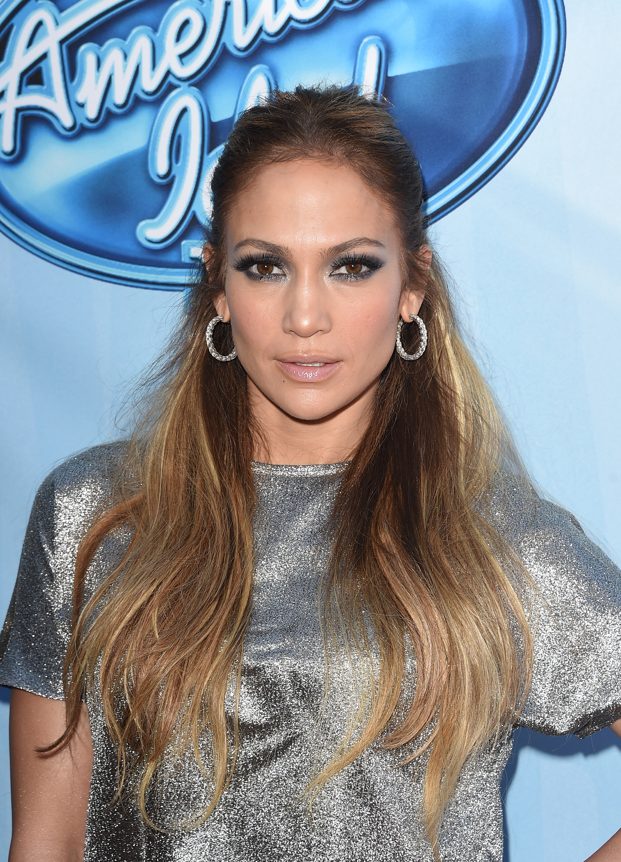 Singer Jennifer Lopez at  American Idol XIV  Red Carpet Event in Los Angeles, Ca. on Dec. 9, 2014.