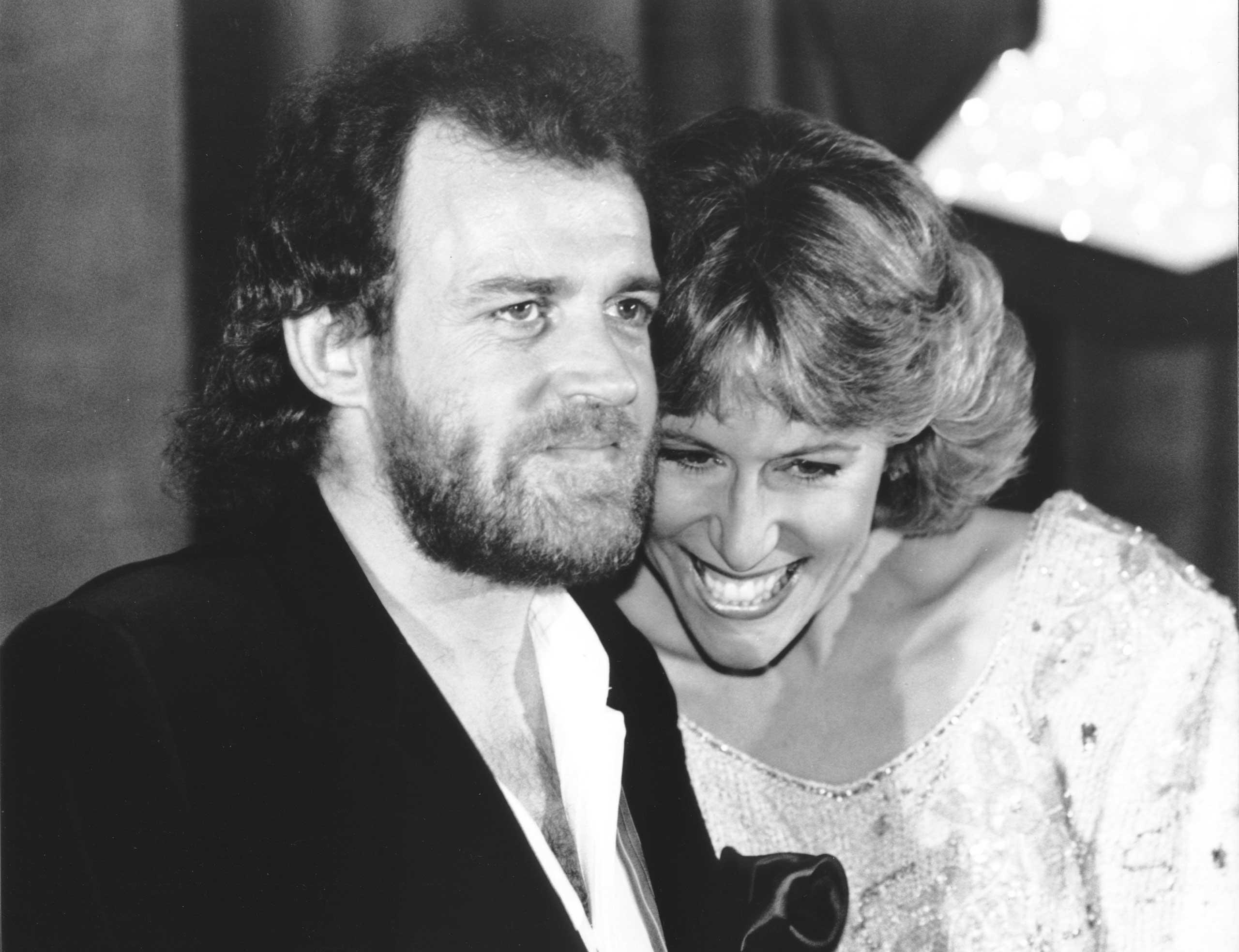 Joe Cocker and Jennifer Warnes, 1983.