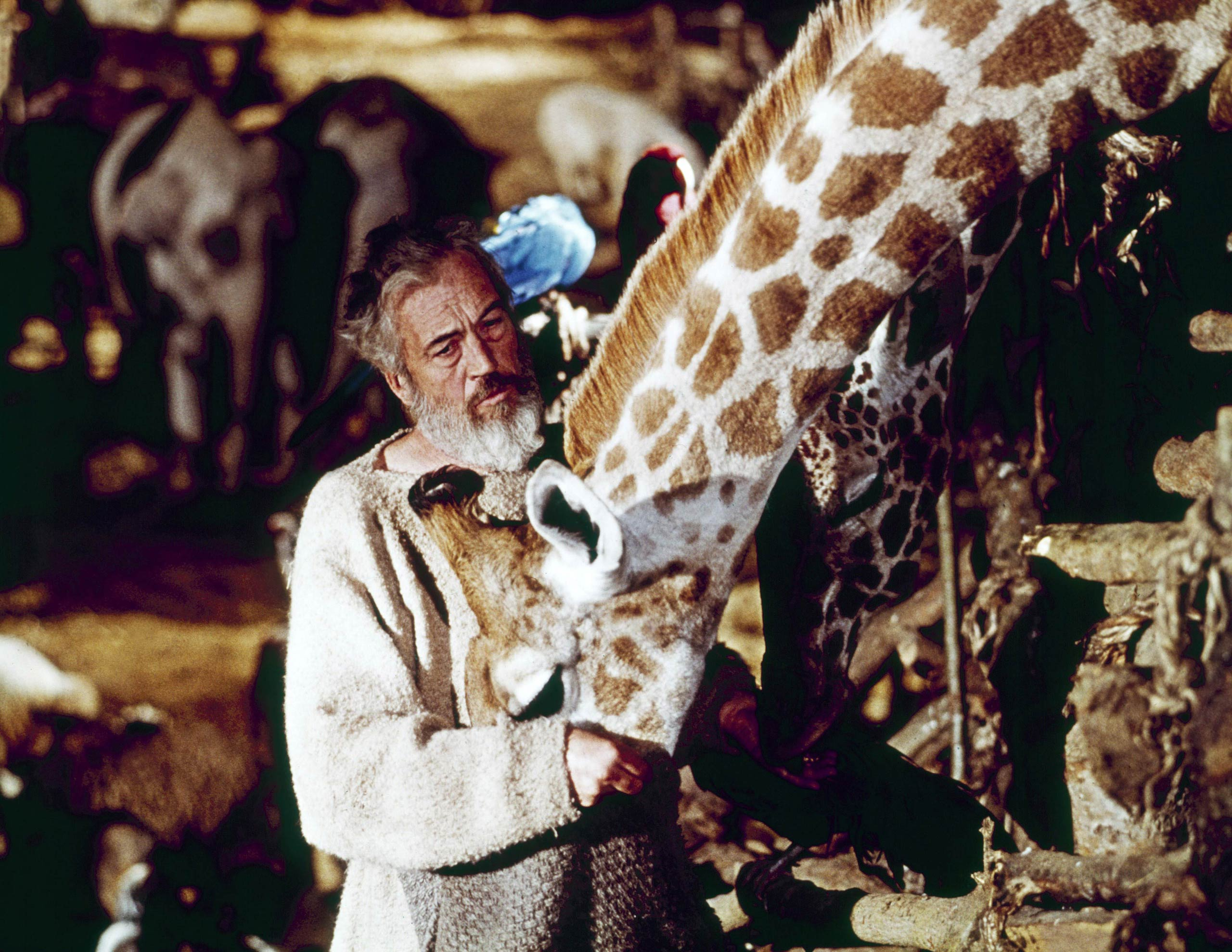 <strong>John Huston, <i>The Bible: In The Beginning</i></strong>                                   When casting a powerful, commanding leading man, iconic director John Huston knew to look no further than himself. Huston appeared in his own film as both Noah and the voice of God, part of a side career in acting that went on to include the downright devilish villain in Chinatown.