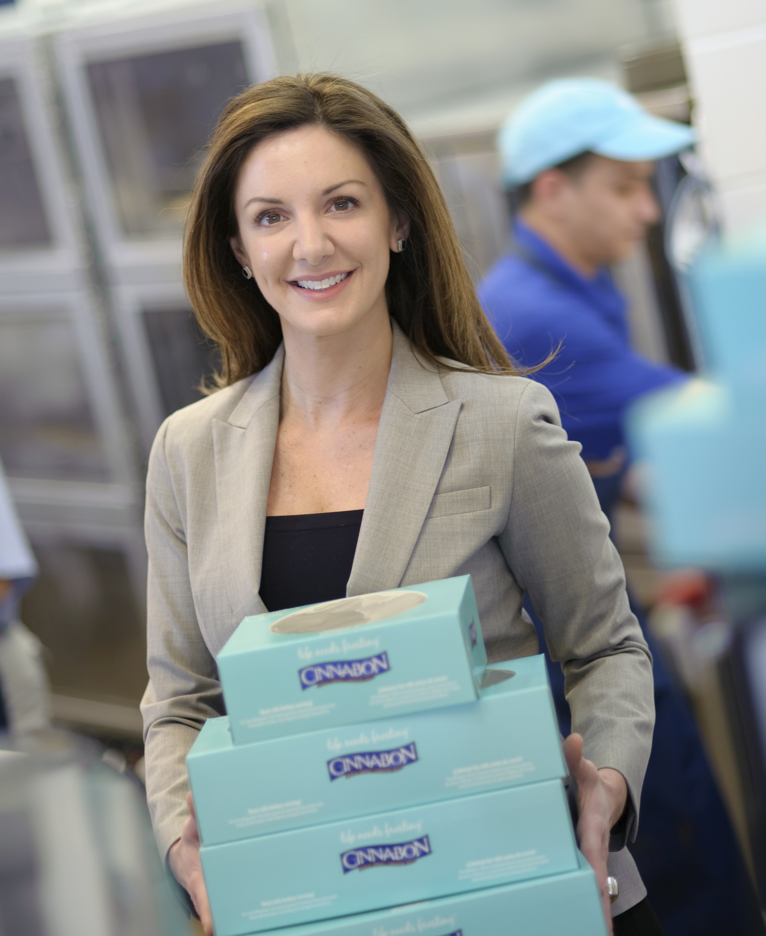 Kat Cole has been President of Cinnabon since 2010 (Photo courtesy of Kat Cole)