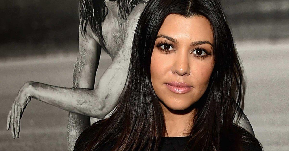 Kourtney Kardashian Defends Totally Nude Photo Shoot