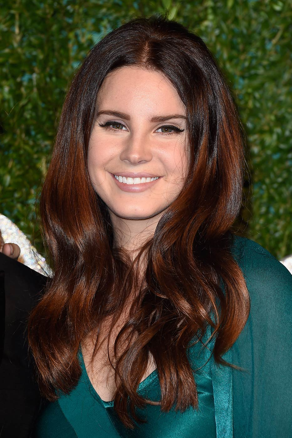 Lana del Rey attends the British Fashion Awards at London Coliseum on December 1, 2014 in London, England.