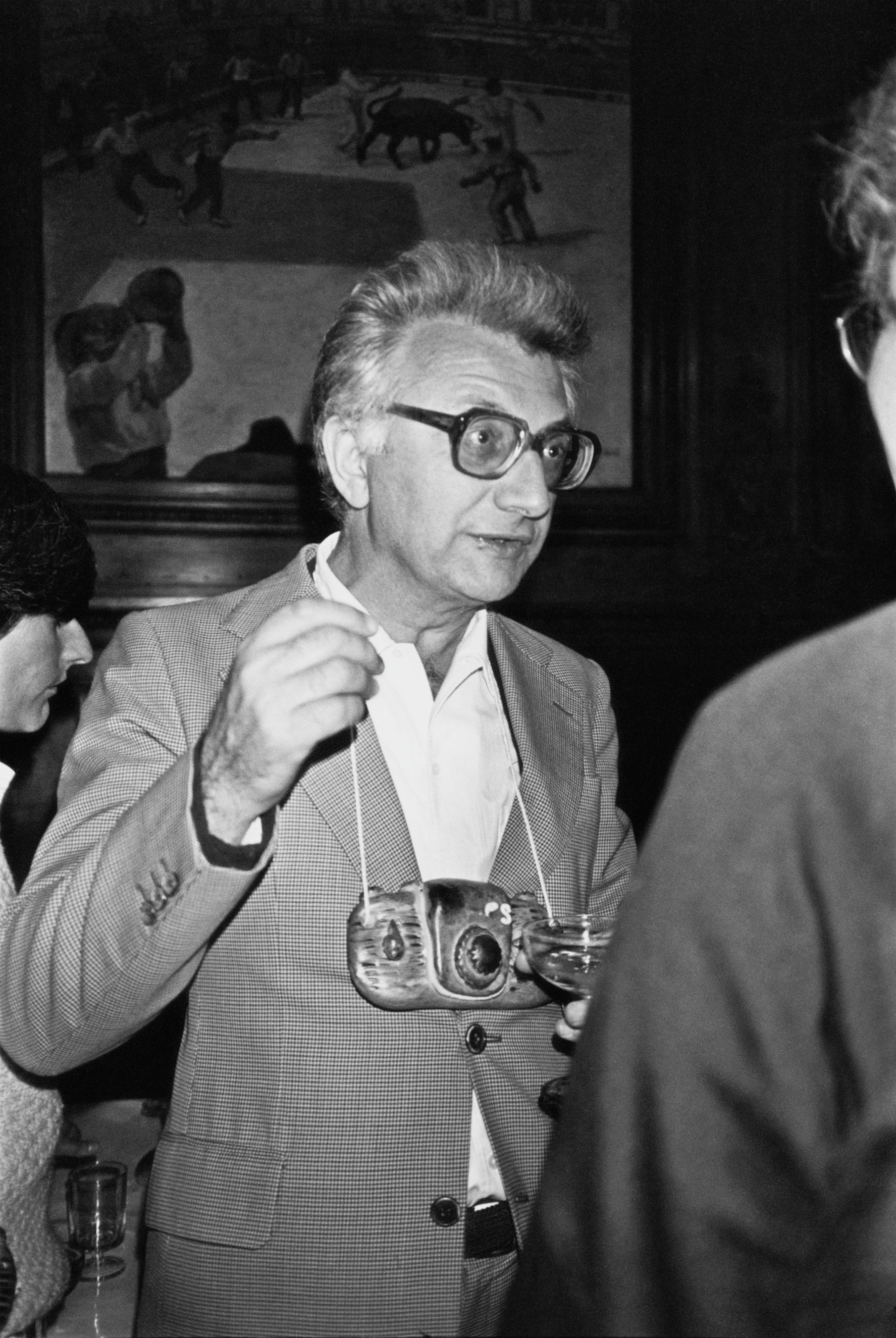 Lucien Clergue in Arles, France in July 1980.