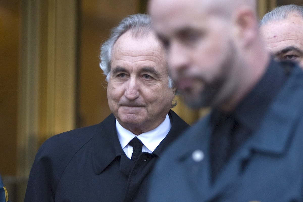 Bernard Madoff  walks out of Federal Court on Jan. 5, 2009, in New York City