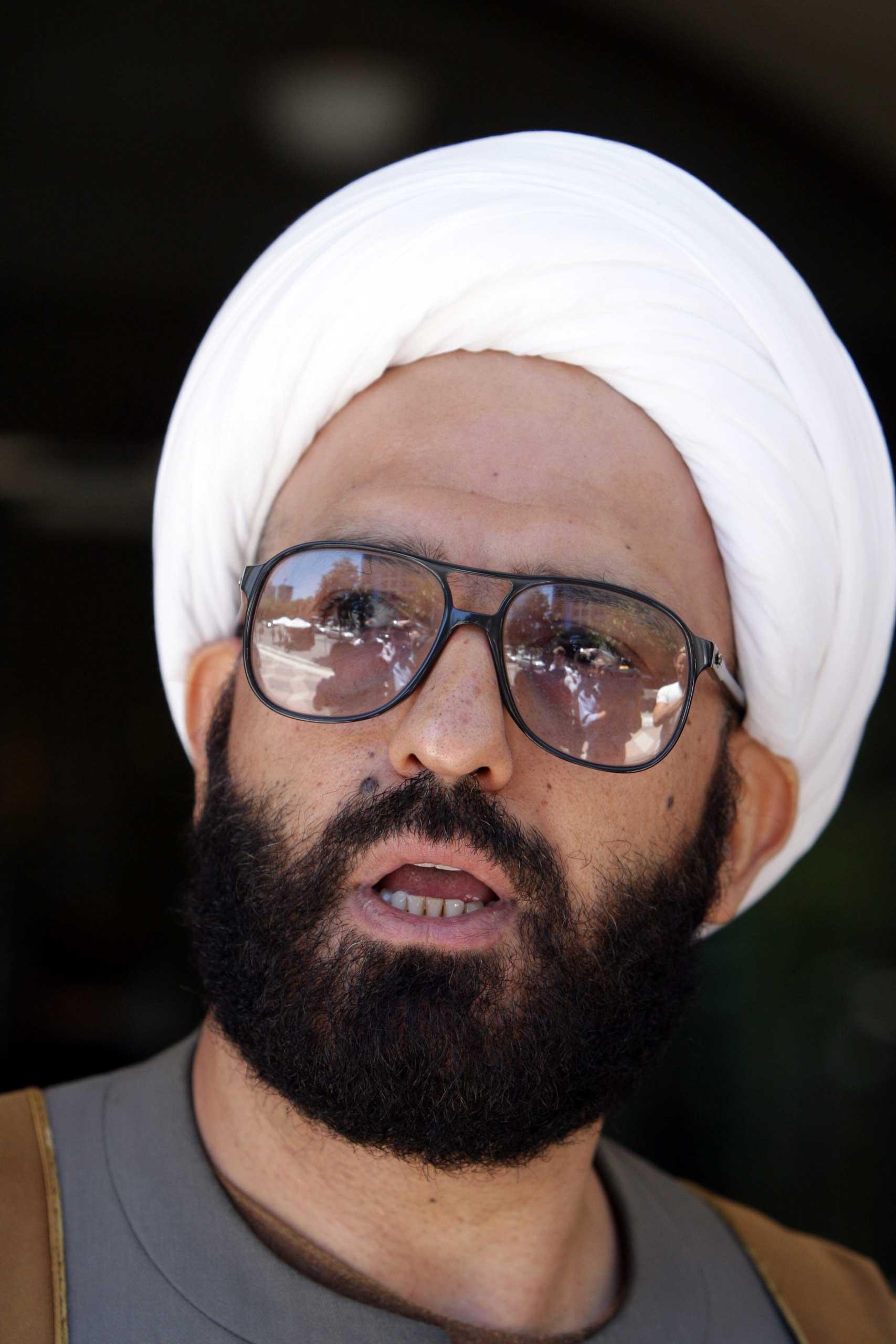 The self-declared sheikh named Man Haron Monis.